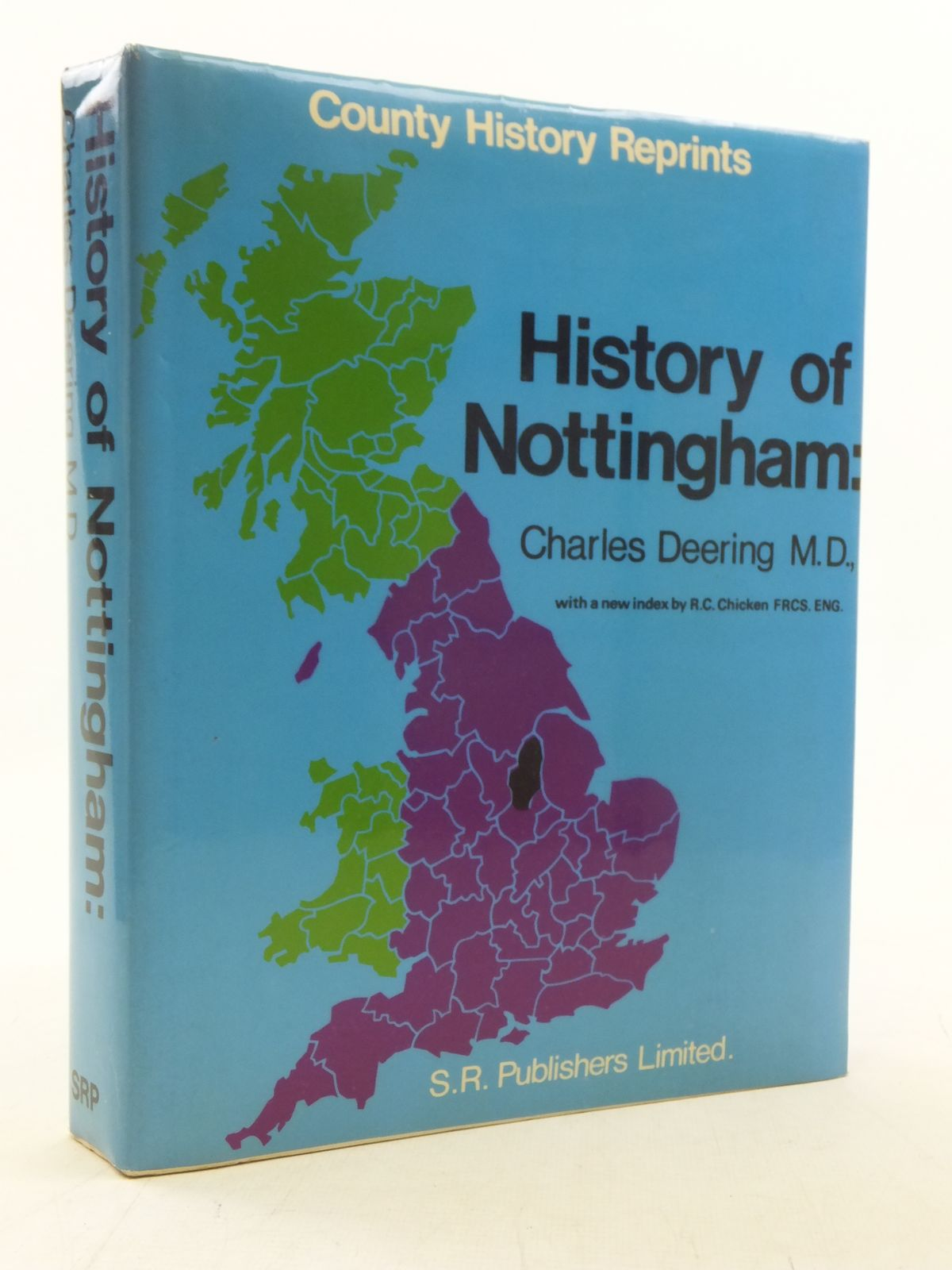 Photo of THE HISTORY OF NOTTINGHAM written by Deering, Charles published by S.R. Publishers Ltd. (STOCK CODE: 2117874)  for sale by Stella & Rose's Books