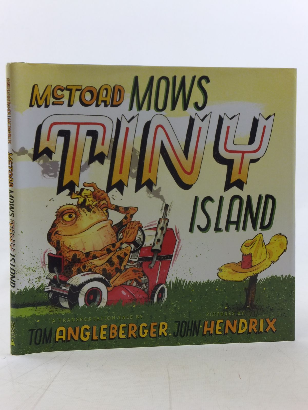 Photo of MCTOAD MOWS TINY ISLAND- Stock Number: 2117904