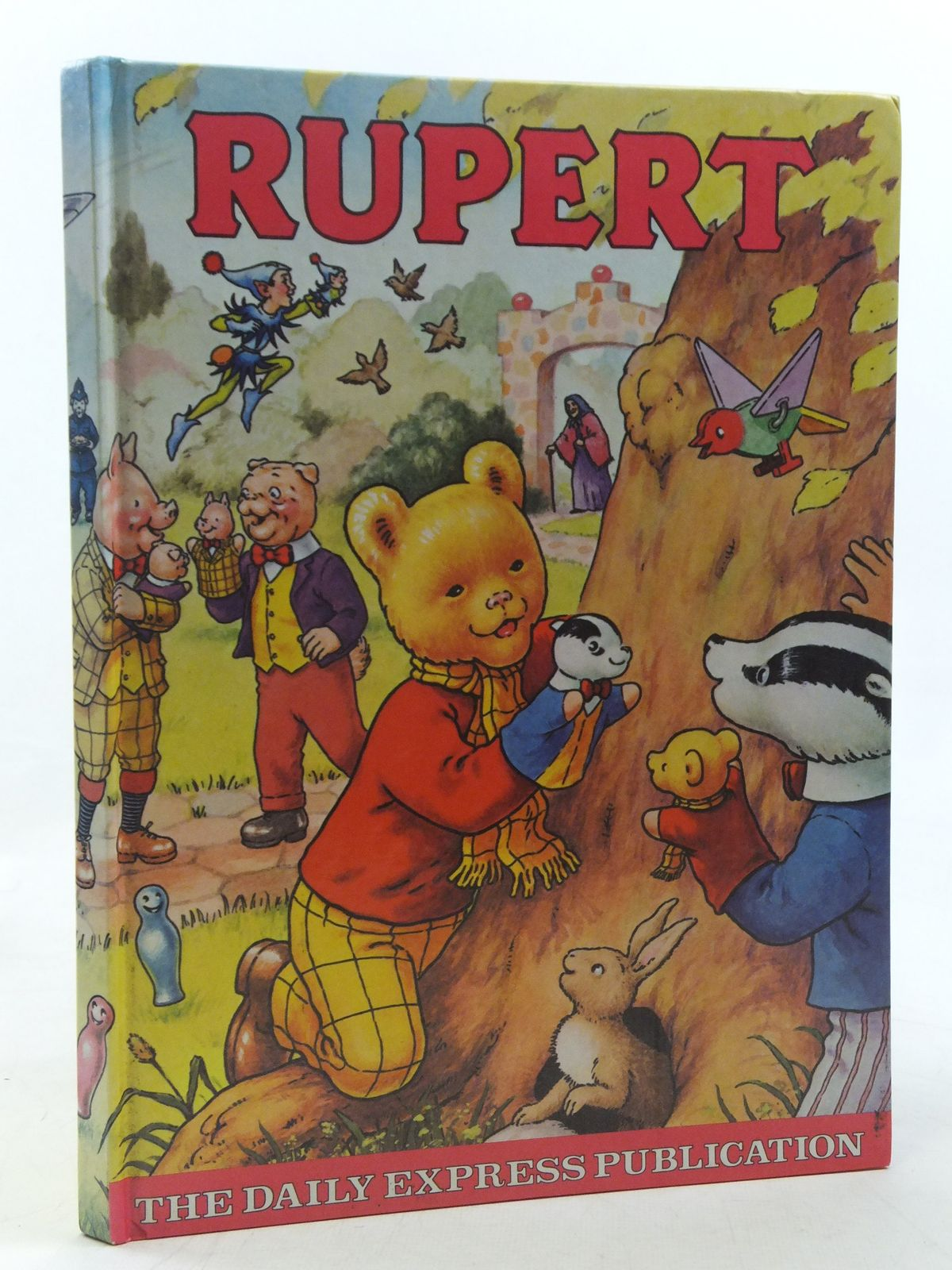 Photo of RUPERT ANNUAL 1980 illustrated by Harrold, John published by Express Newspapers Ltd. (STOCK CODE: 2117931)  for sale by Stella & Rose's Books