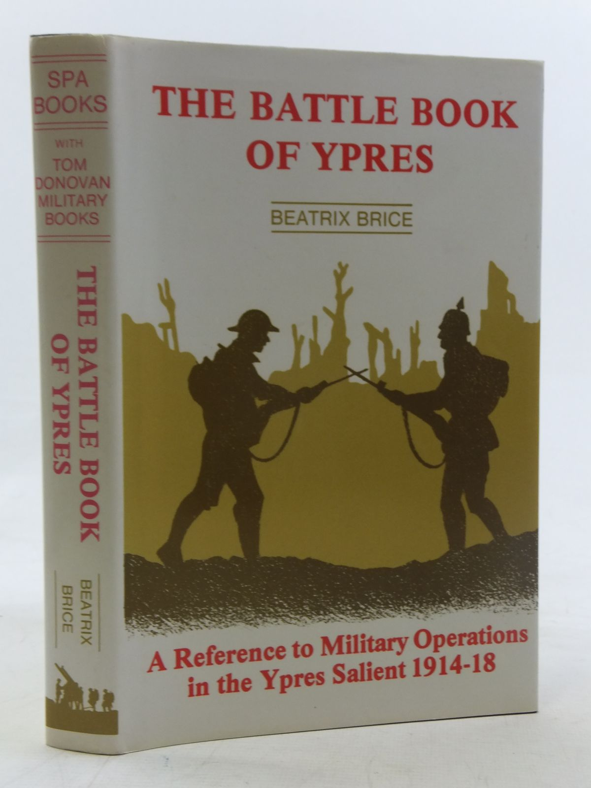 Photo of THE BATTLE BOOK OF YPRES written by Brice, Beatrix published by Spa Books (STOCK CODE: 2117932)  for sale by Stella & Rose's Books