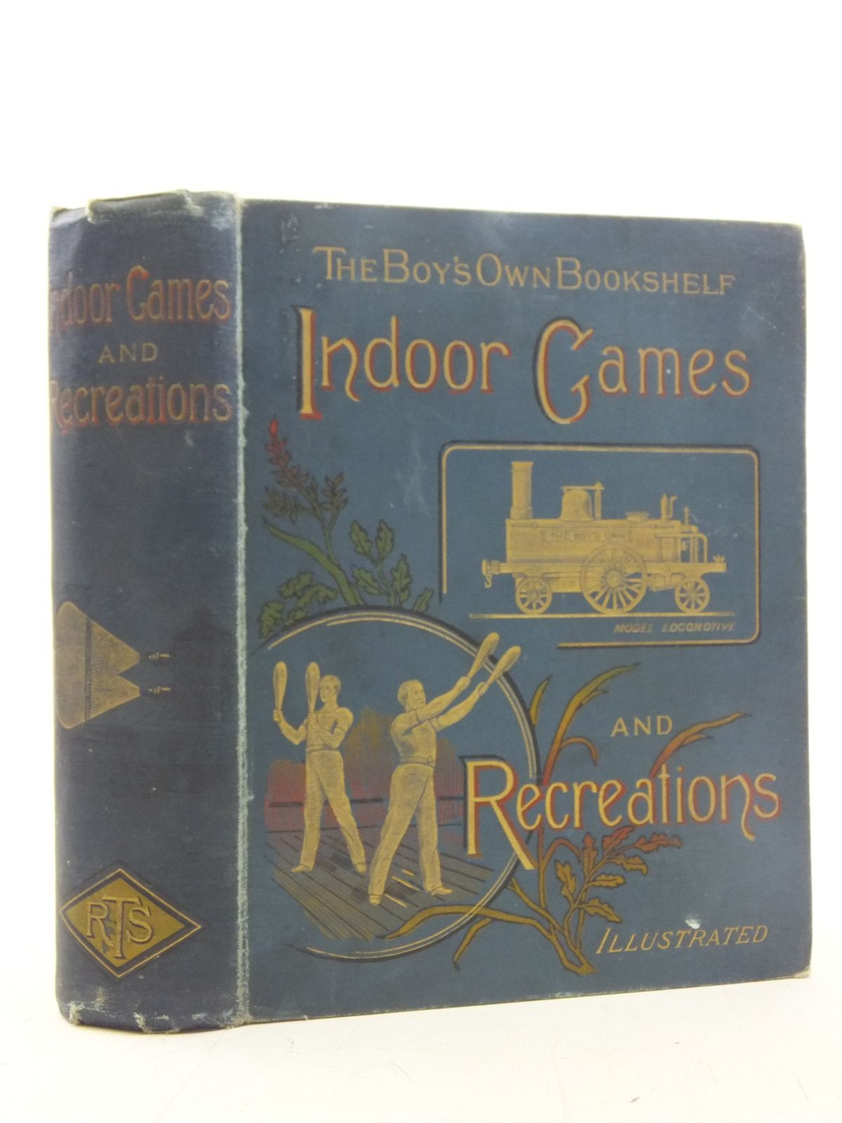 Photo of THE BOY'S OWN BOOKSHELF VOLUME VIII INDOOR GAMES AND RECREATIONS written by Hutchison, G.A. published by The Religious Tract Society (STOCK CODE: 2117952)  for sale by Stella & Rose's Books