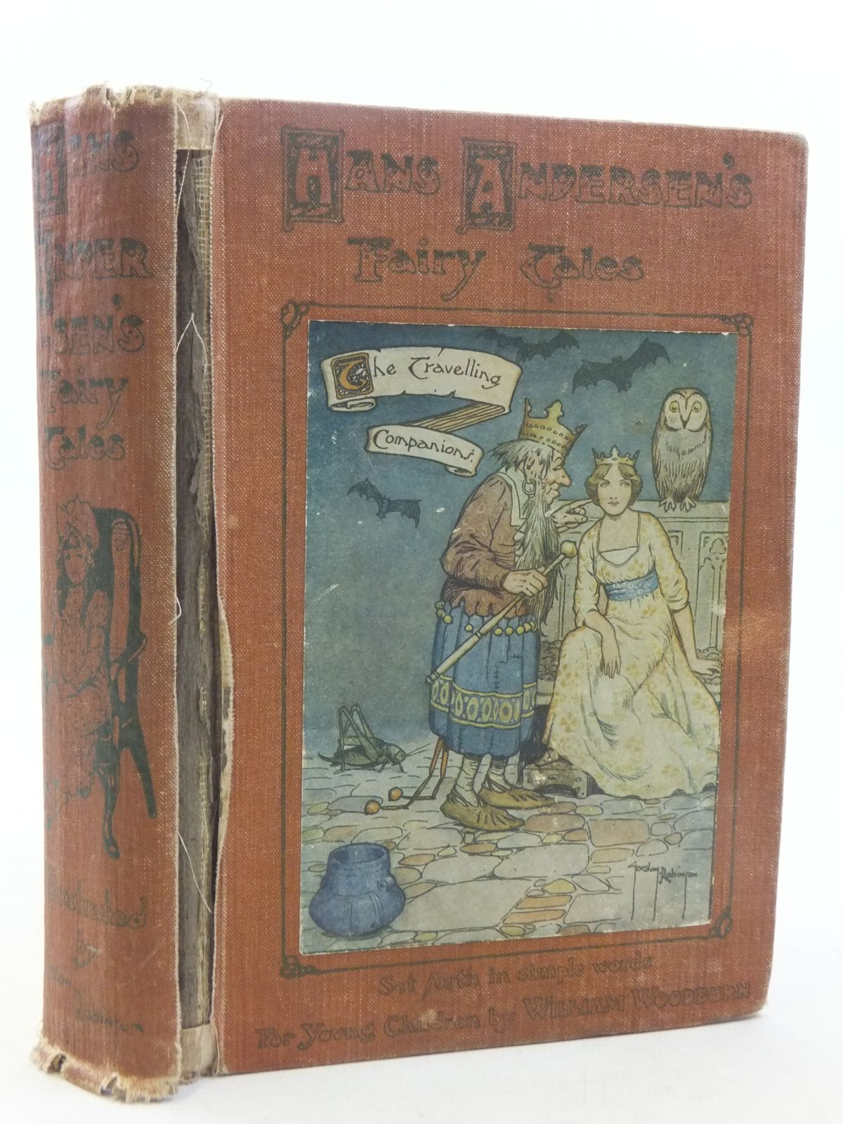 Photo of HANS ANDERSEN'S FAIRY TALES written by Andersen, Hans Christian<br />Woodburn, William illustrated by Robinson, Gordon published by W. &amp; R. Chambers Limited (STOCK CODE: 2117956)  for sale by Stella & Rose's Books
