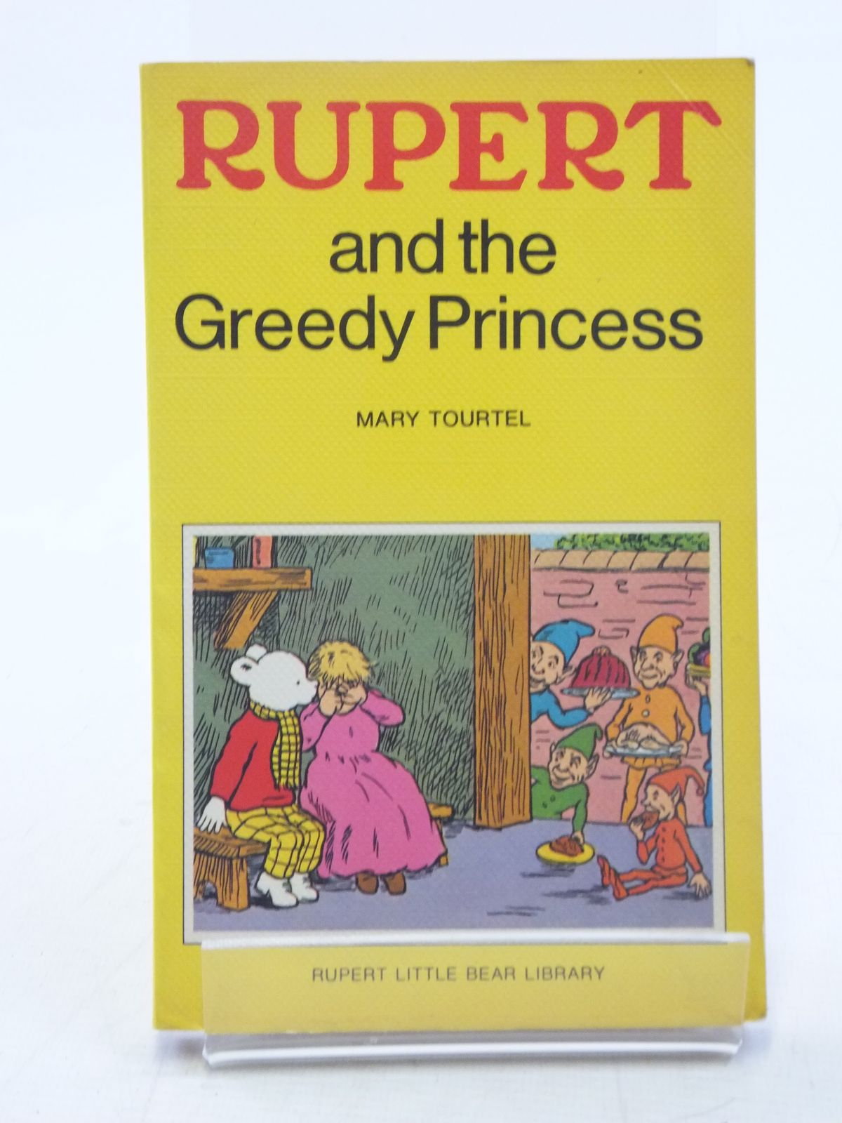 Photo of RUPERT AND THE GREEDY PRINCESS - RUPERT LITTLE BEAR LIBRARY No. 11 (WOOLWORTH)- Stock Number: 2117965