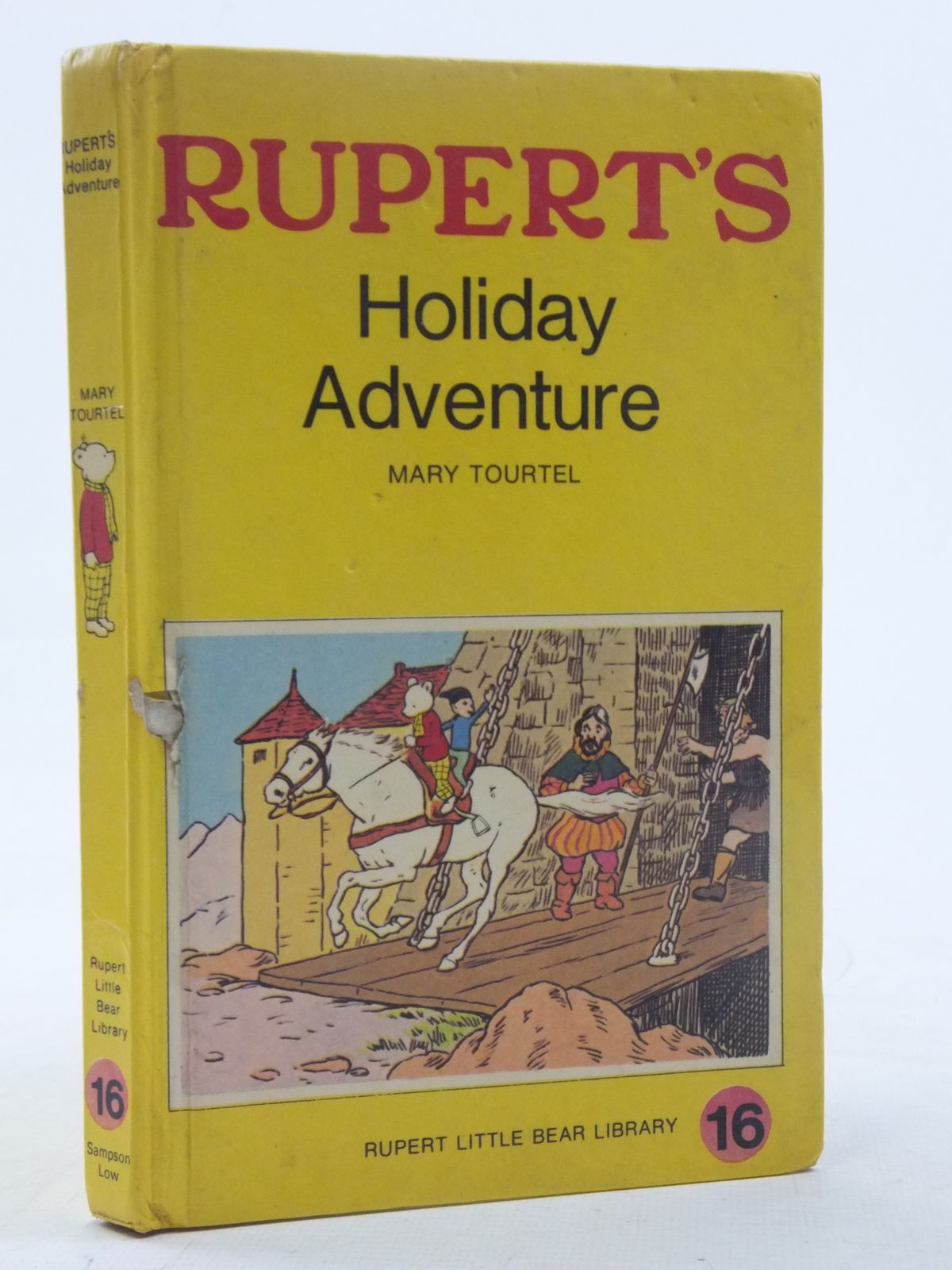 Photo of RUPERT'S HOLIDAY ADVENTURE - RUPERT LITTLE BEAR LIBRARY No. 16 (WOOLWORTH) written by Tourtel, Mary illustrated by Tourtel, Mary published by Sampson Low, Marston & Co. Ltd. (STOCK CODE: 2117966)  for sale by Stella & Rose's Books