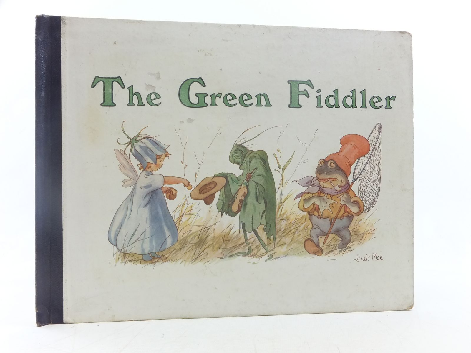 Photo of THE GREEN FIDDLER written by Kalkar, George illustrated by Moe, Louis published by Thomas De La Rue & Co. Ltd. (STOCK CODE: 2117988)  for sale by Stella & Rose's Books