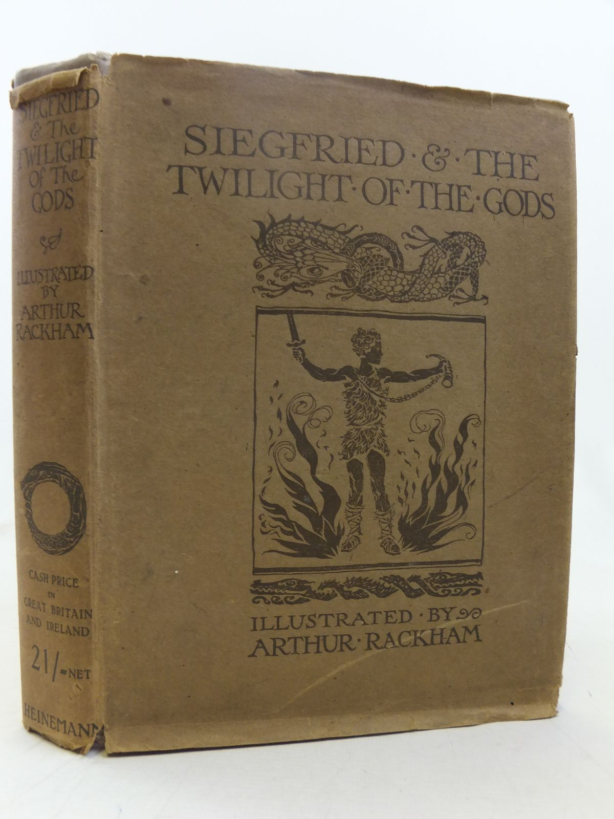 Photo of SIEGFRIED AND THE TWILIGHT OF THE GODS written by Wagner, Richard illustrated by Rackham, Arthur published by William Heinemann (STOCK CODE: 2118113)  for sale by Stella & Rose's Books