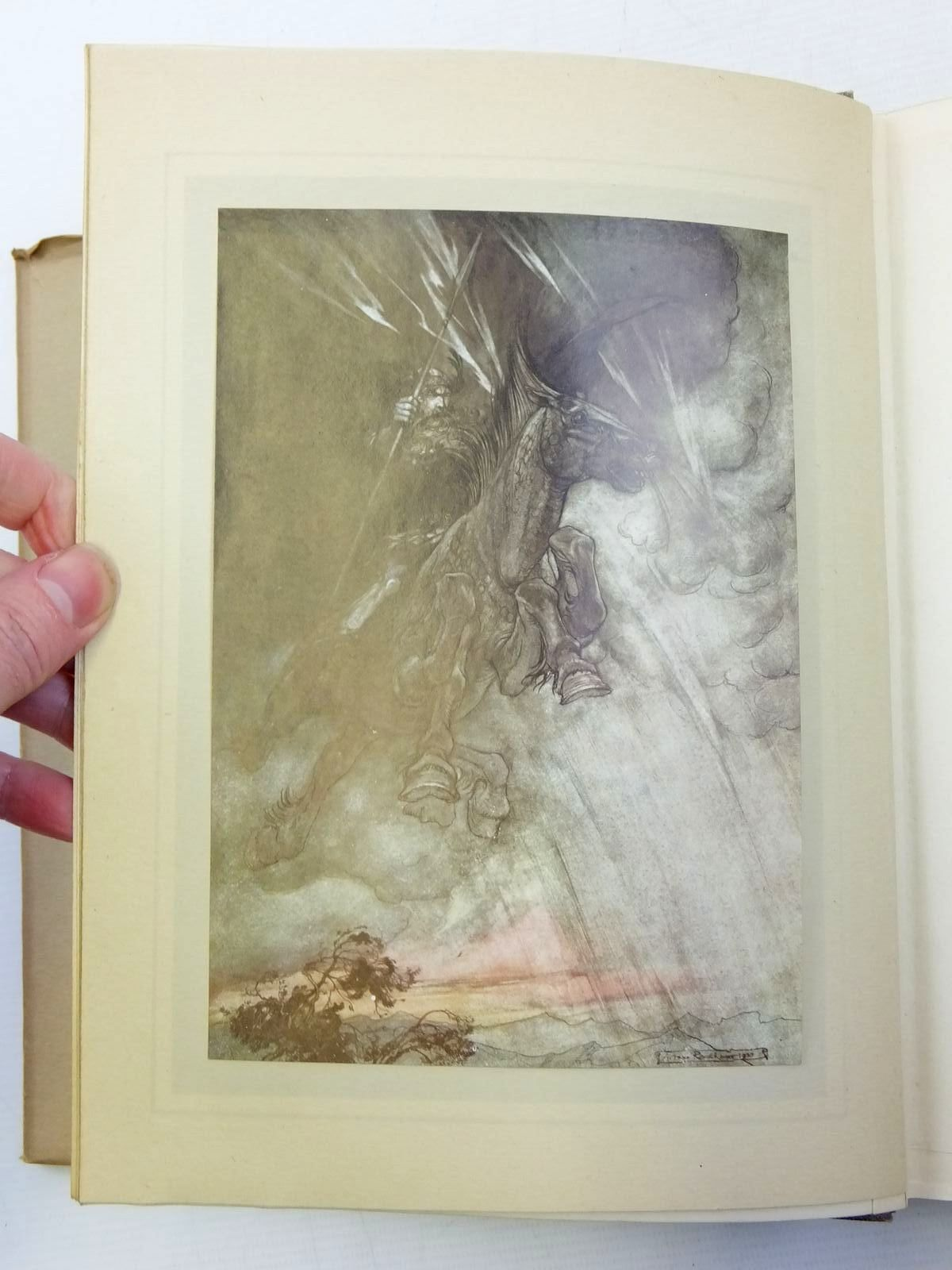 Photo of THE RHINEGOLD & THE VALKYRIE written by Wagner, Richard Armour, Margaret illustrated by Rackham, Arthur published by William Heinemann (STOCK CODE: 2118149)  for sale by Stella & Rose's Books