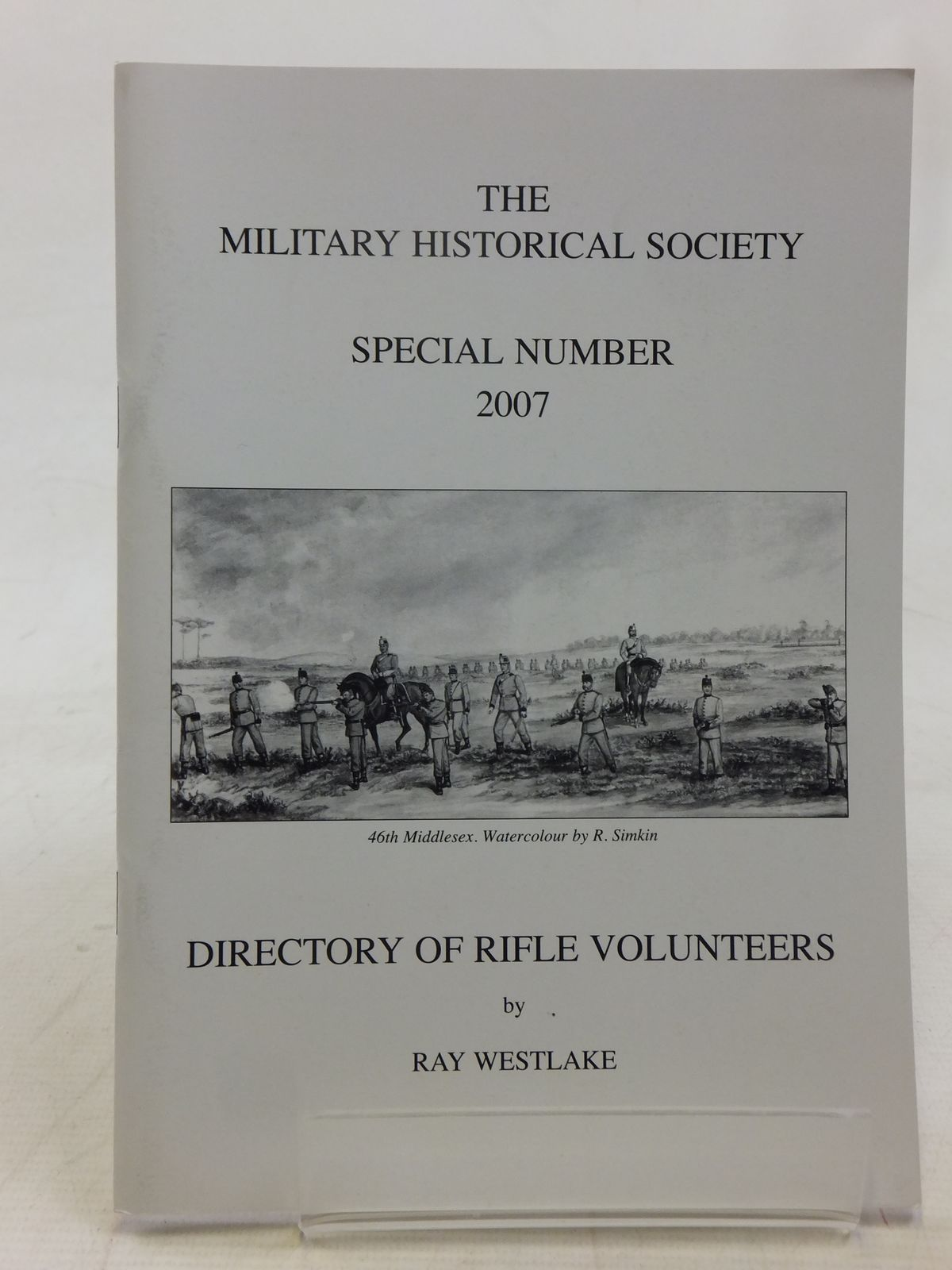 Photo of DIRECTORY OF RIFLE VOLUNTEERS written by Westlake, Ray published by The Military Historical Society (STOCK CODE: 2118200)  for sale by Stella & Rose's Books