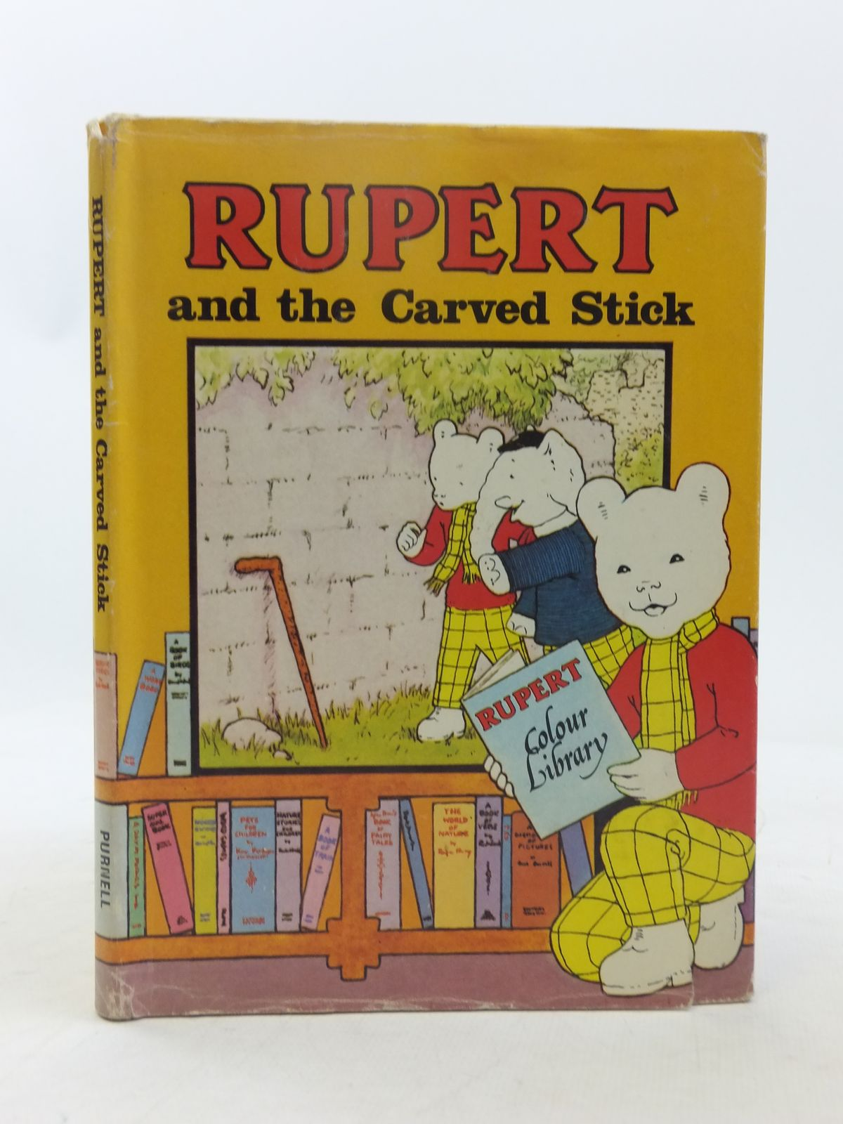 Photo of RUPERT AND THE CARVED STICK- Stock Number: 2118350