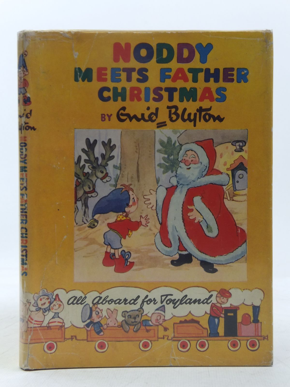 Photo of NODDY MEETS FATHER CHRISTMAS written by Blyton, Enid illustrated by Brooks, Mary published by Sampson Low, Marston & Co. Ltd., C.A. Publications Ltd. (STOCK CODE: 2118366)  for sale by Stella & Rose's Books
