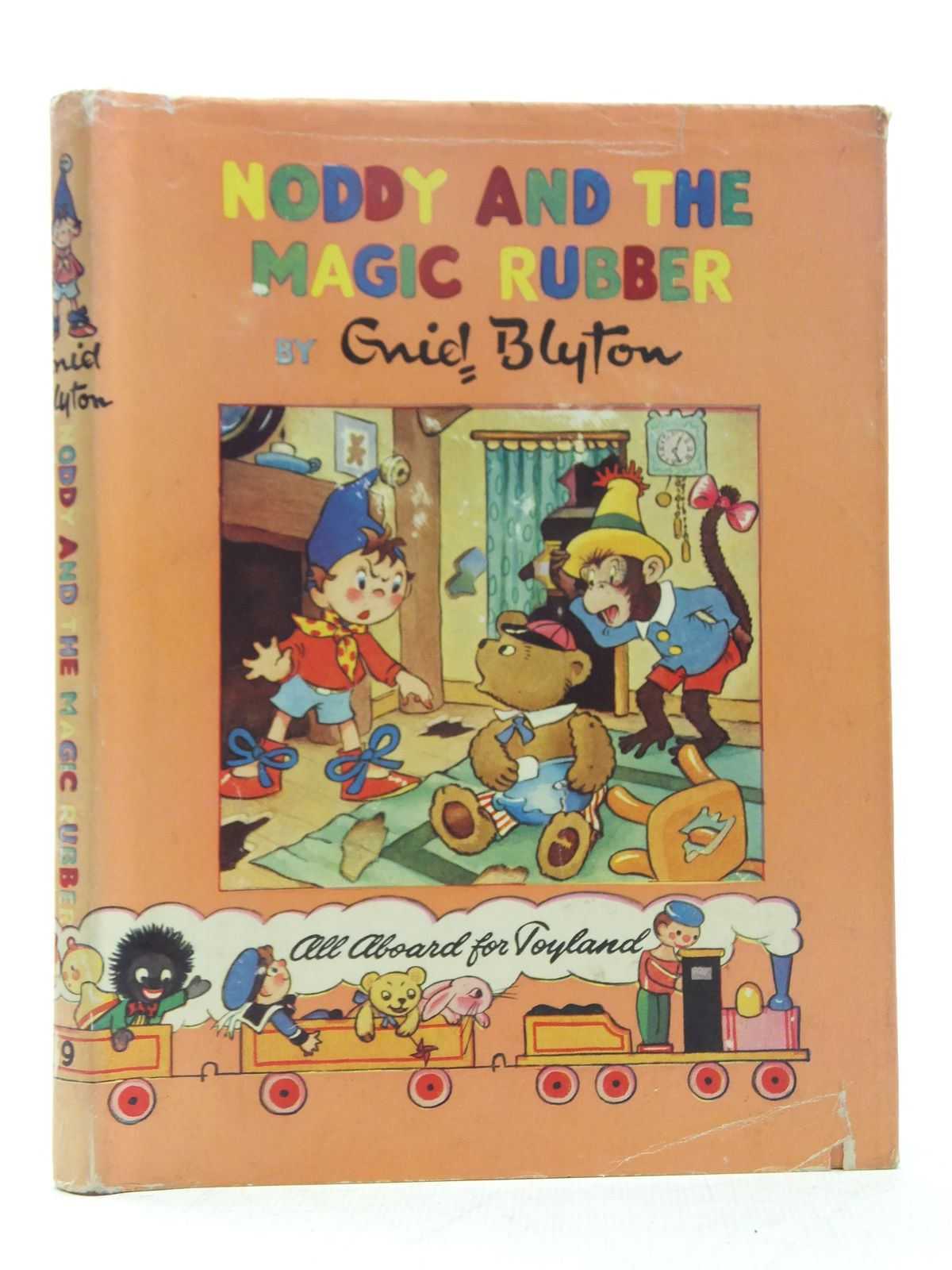 Photo of NODDY AND THE MAGIC RUBBER written by Blyton, Enid published by Sampson Low, Marston & Co. Ltd., Pleiades Books Ltd. (STOCK CODE: 2118373)  for sale by Stella & Rose's Books