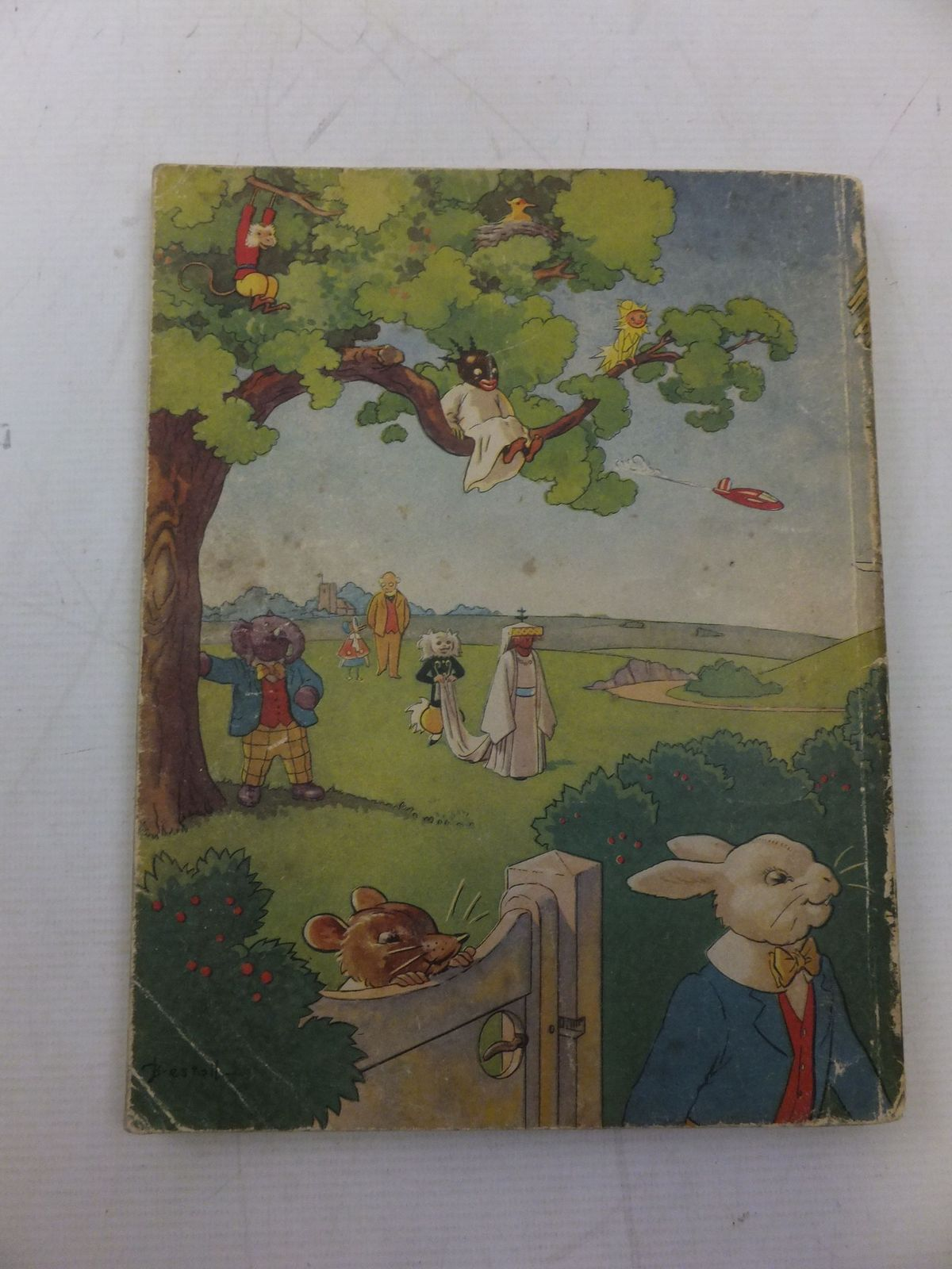 Photo of RUPERT ANNUAL 1946 - THE NEW RUPERT BOOK written by Bestall, Alfred illustrated by Bestall, Alfred published by Daily Express (STOCK CODE: 2118449)  for sale by Stella & Rose's Books