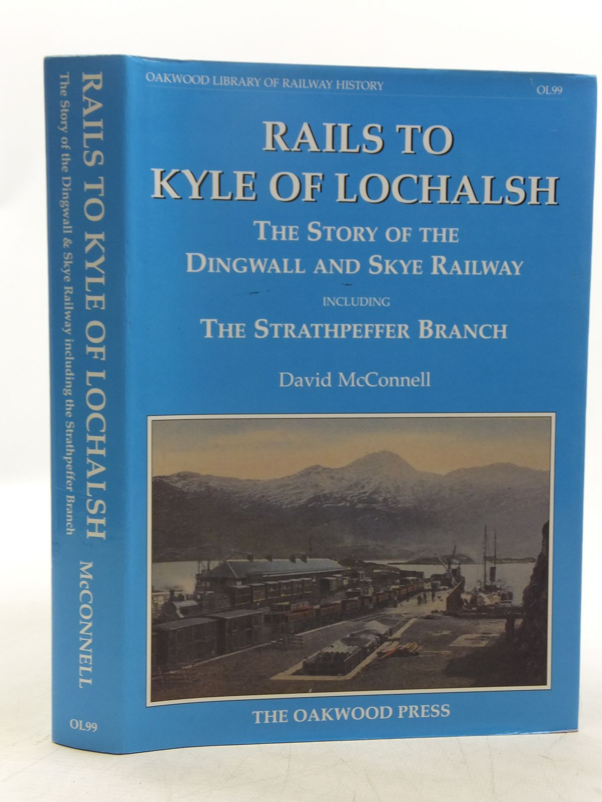 Photo of RAILS TO KYLE OF LOCHALSH THE STORY OF THE DINGWALL AND SKYE RAILWAY- Stock Number: 2118833