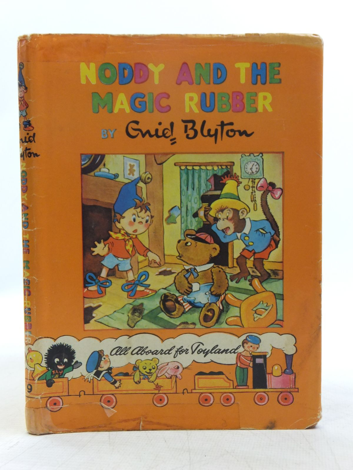 Photo of NODDY AND THE MAGIC RUBBER written by Blyton, Enid illustrated by Wienk, Peter Tyndall, Robert published by Sampson Low, Marston & Co. Ltd., The Richards Press Ltd. (STOCK CODE: 2118911)  for sale by Stella & Rose's Books