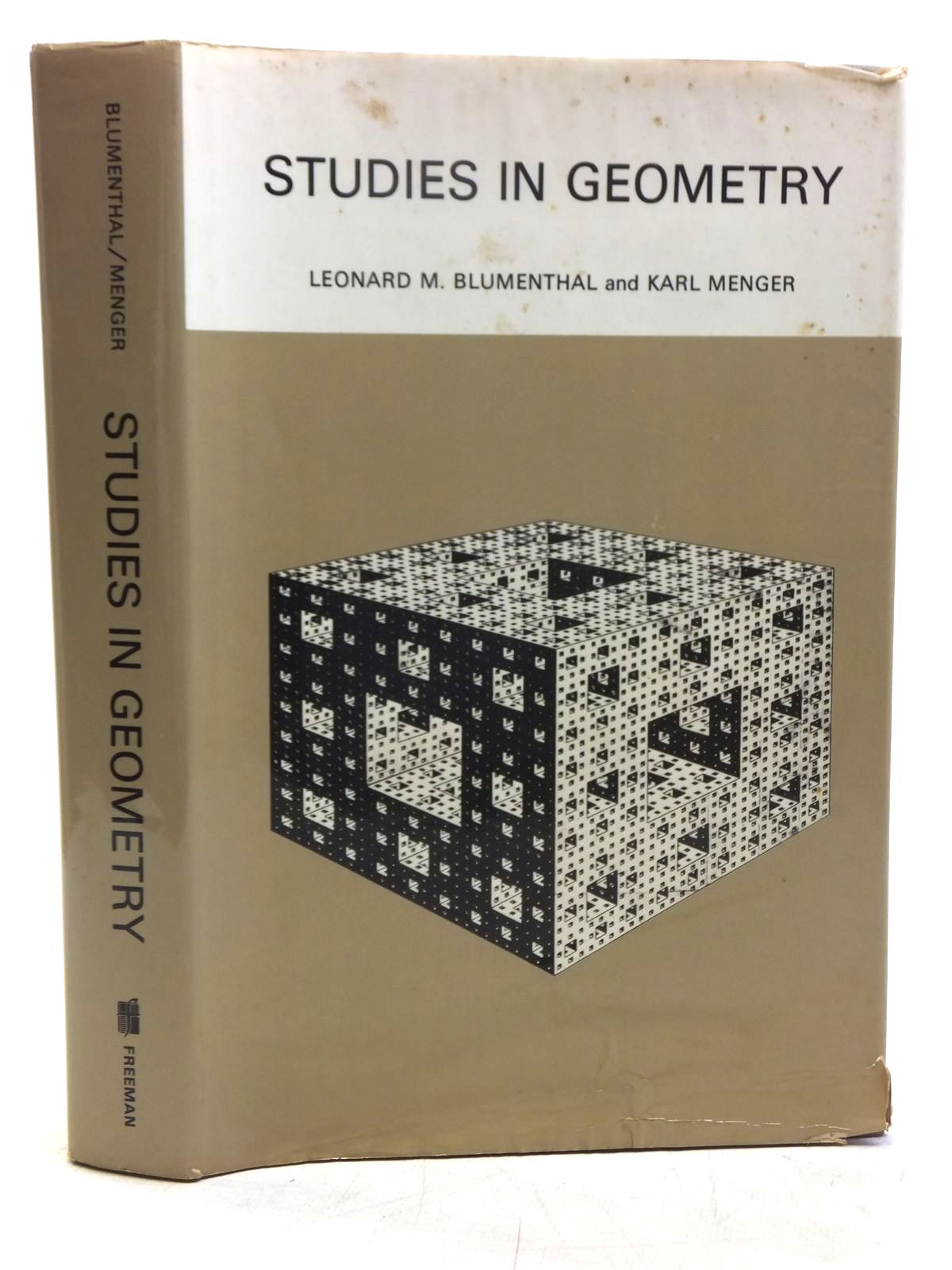 Photo of STUDIES IN GEOMETRY written by Blumenthal, Leonard Menger, Karl published by W.H. Freeman and Company (STOCK CODE: 2118966)  for sale by Stella & Rose's Books