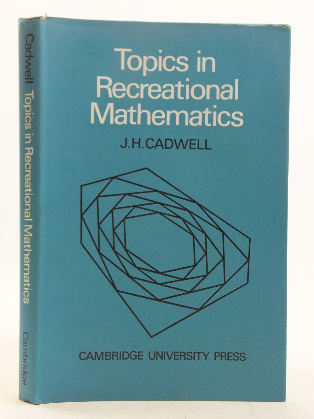 Photo of TOPICS IN RECREATIONAL MATHEMATICS written by Cadwell, J.H. published by Cambridge University Press (STOCK CODE: 2119009)  for sale by Stella & Rose's Books
