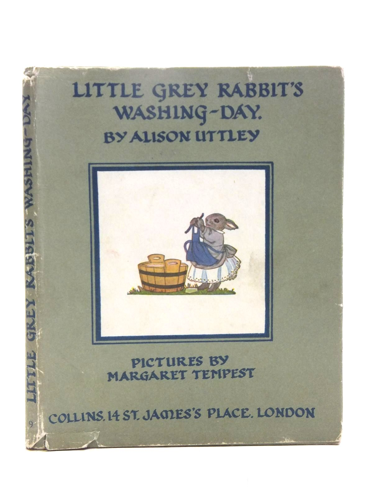 Photo of LITTLE GREY RABBIT'S WASHING DAY written by Uttley, Alison illustrated by Tempest, Margaret published by Collins (STOCK CODE: 2119065)  for sale by Stella & Rose's Books