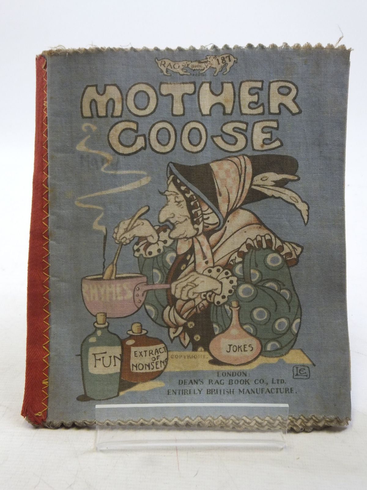 Photo of MOTHER GOOSE illustrated by Larcombe, Laura published by Dean's Rag Book Co. Ltd. (STOCK CODE: 2119085)  for sale by Stella & Rose's Books