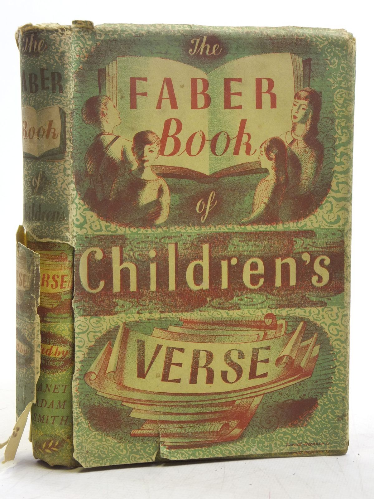 Photo of THE FABER BOOK OF CHILDREN'S VERSE written by Smith, Janet Adam published by Faber & Faber (STOCK CODE: 2119193)  for sale by Stella & Rose's Books