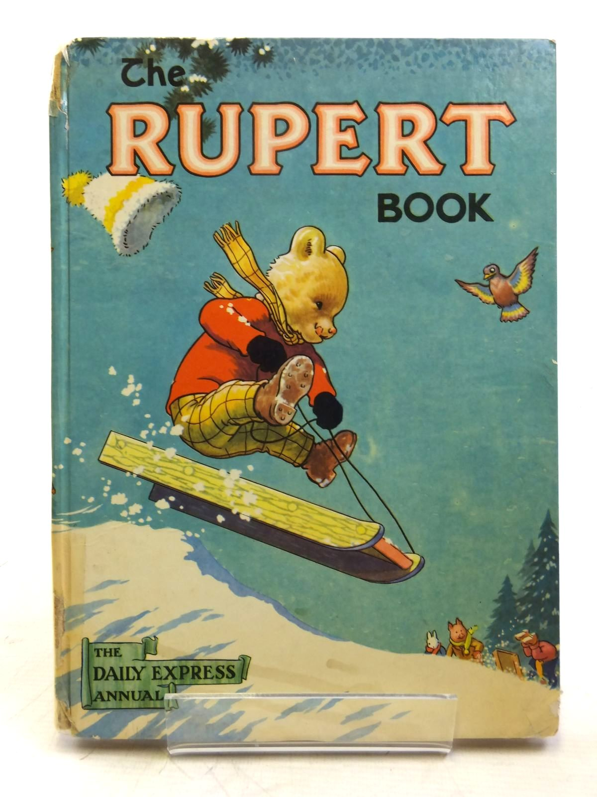 Photo of RUPERT ANNUAL 1956 - THE RUPERT BOOK written by Bestall, Alfred illustrated by Bestall, Alfred published by Oldbourne Book Co. Ltd. (STOCK CODE: 2119366)  for sale by Stella & Rose's Books