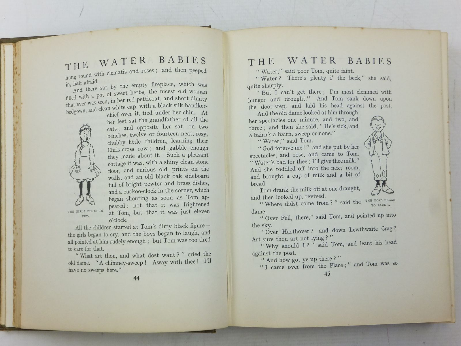 Photo of THE WATER-BABIES written by Kingsley, Charles illustrated by Robinson, W. Heath published by Constable & Co. Ltd. (STOCK CODE: 2119373)  for sale by Stella & Rose's Books