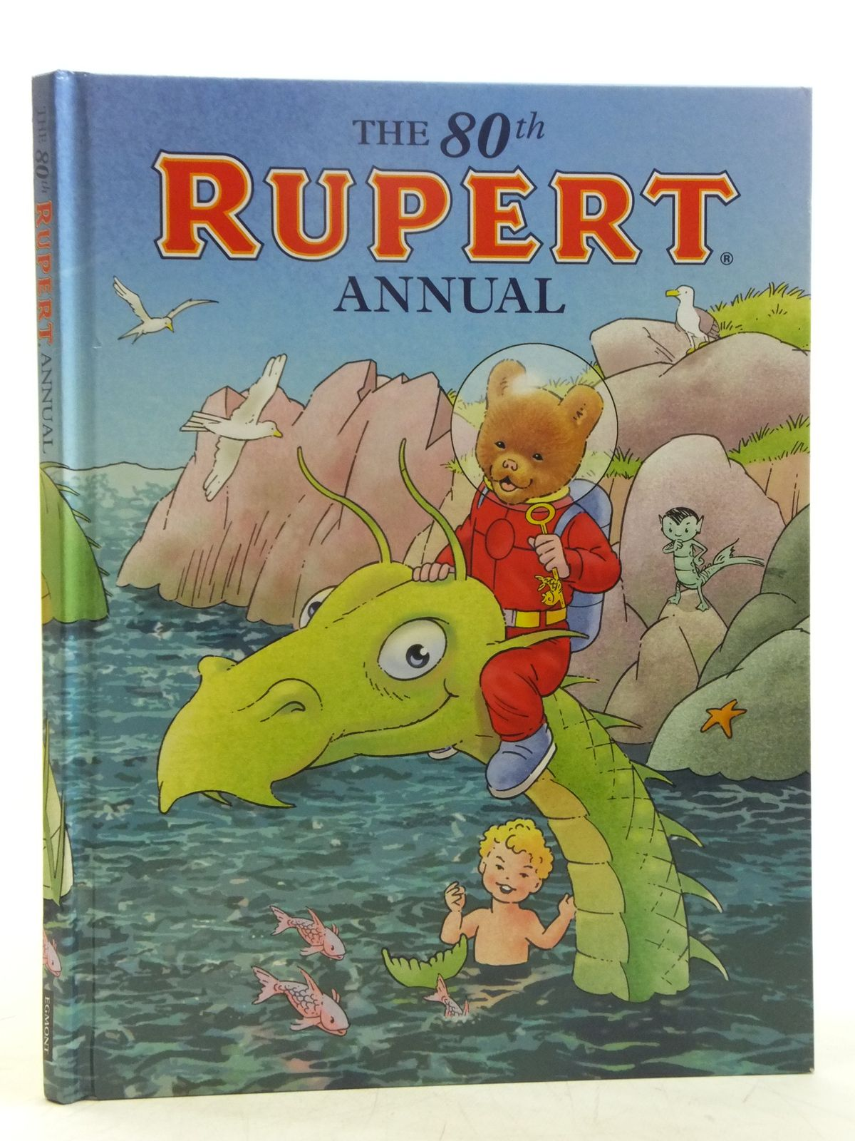 Photo of RUPERT ANNUAL 2015 written by Milton, Stephanie illustrated by Trotter, Stuart<br />Harrold, John<br />Bestall, Alfred published by Egmont Uk Limited (STOCK CODE: 2119409)  for sale by Stella & Rose's Books