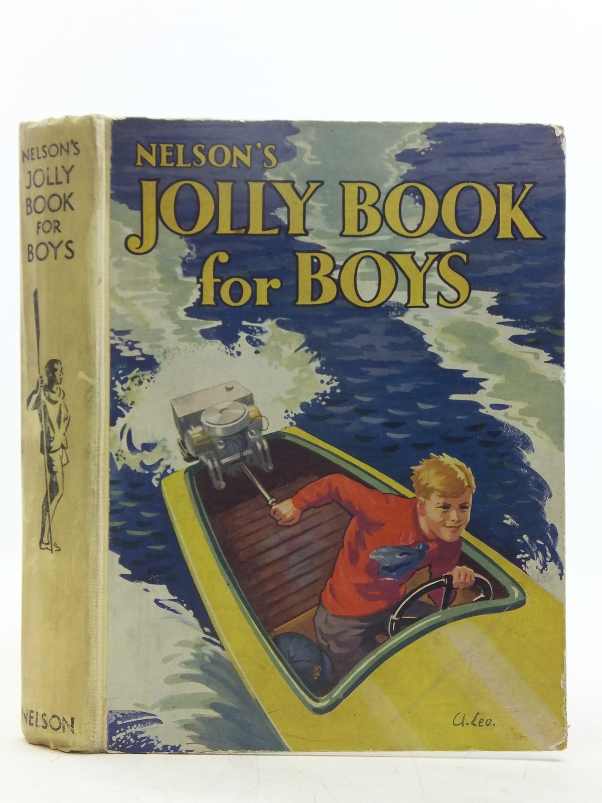 Photo of NELSON'S JOLLY BOOK FOR BOYS written by Chisholm, Edwin Charlcot, C. Rutley, C. Bernard Draper, Ben et al, published by Thomas Nelson and Sons Ltd. (STOCK CODE: 2119433)  for sale by Stella & Rose's Books