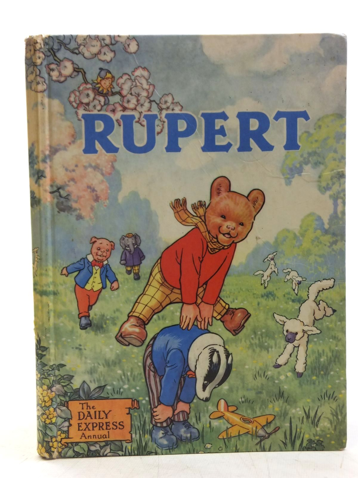 Photo of RUPERT ANNUAL 1958 written by Bestall, Alfred illustrated by Bestall, Alfred published by Daily Express (STOCK CODE: 2119434)  for sale by Stella & Rose's Books