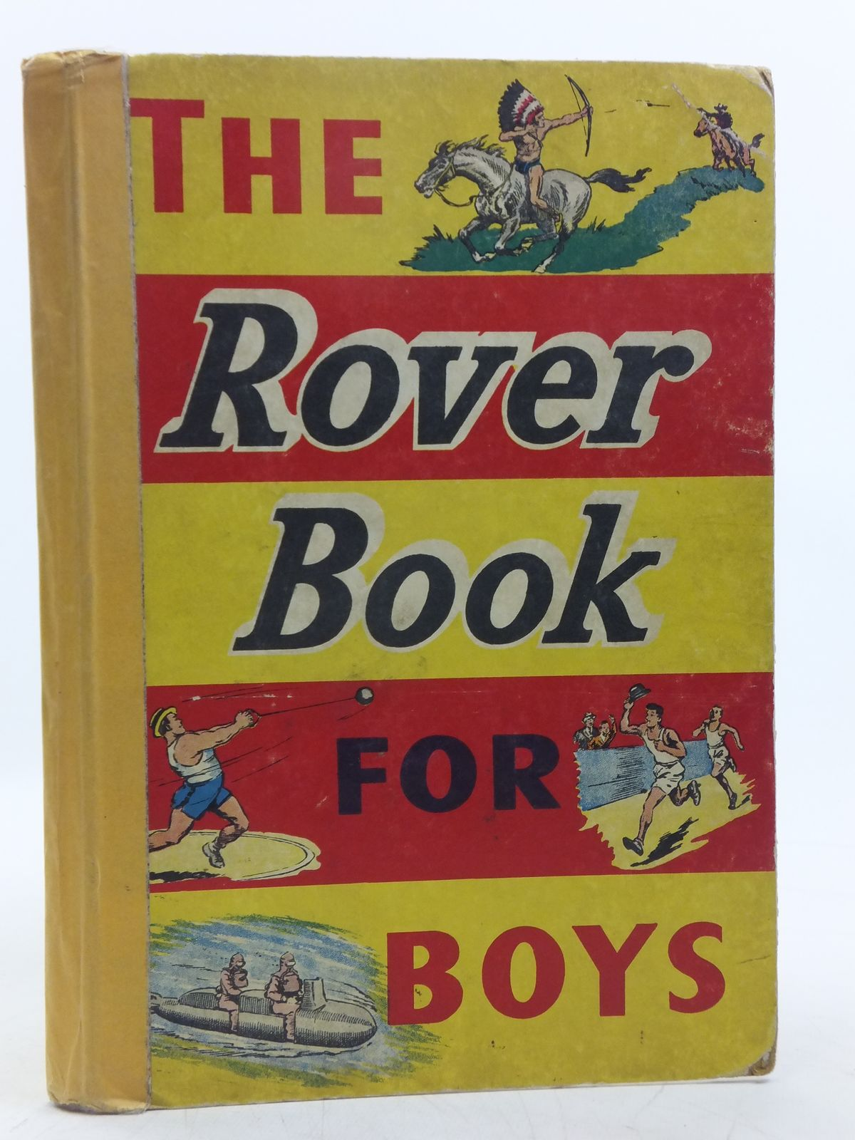 Photo of THE ROVER BOOK FOR BOYS 1958 published by D.C. Thomson & Co Ltd. (STOCK CODE: 2119469)  for sale by Stella & Rose's Books
