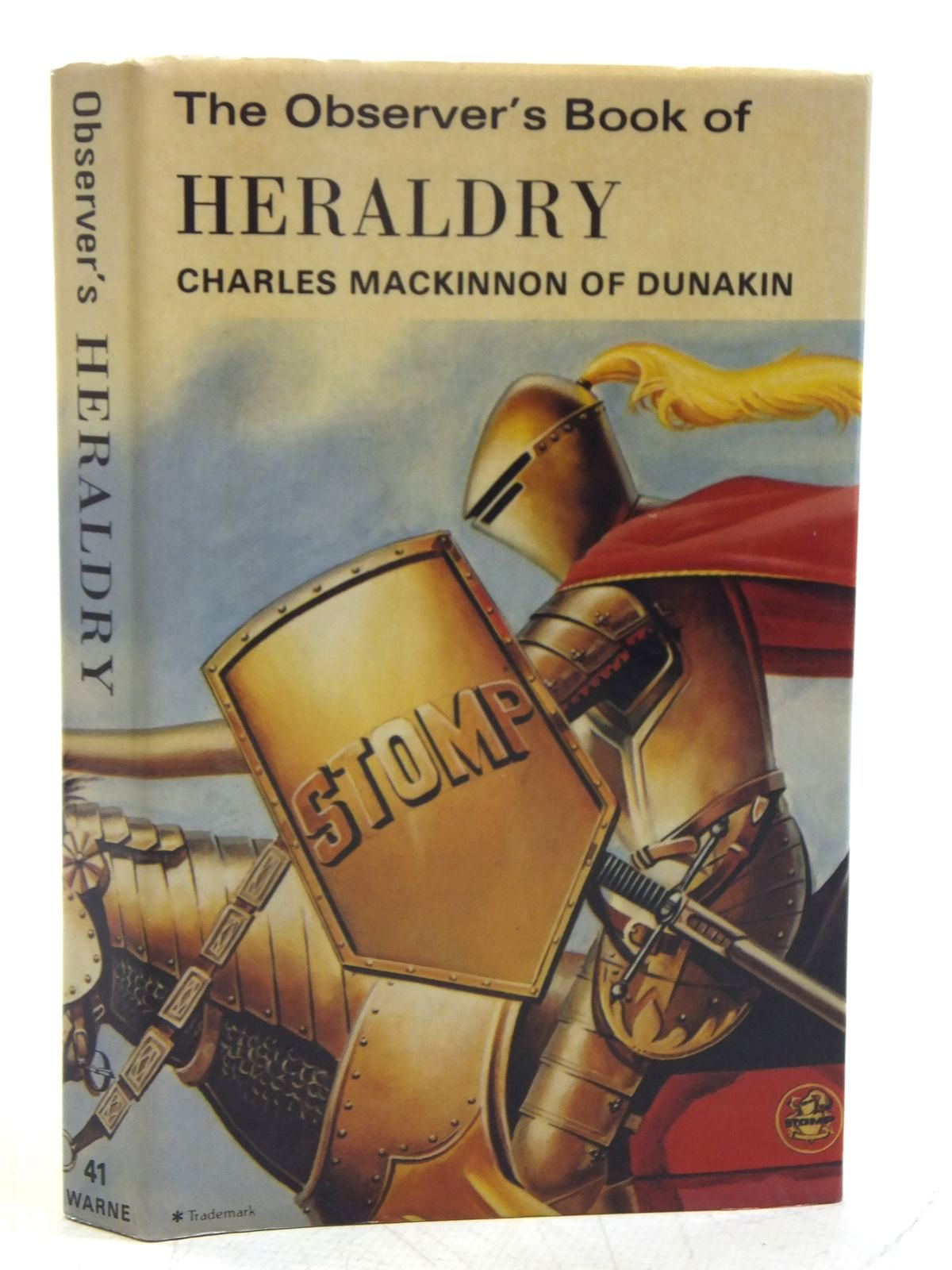 Photo of THE OBSERVER'S BOOK OF HERALDRY (CYANAMID WRAPPER) written by MacKinnon, Charles published by Frederick Warne & Co Ltd. (STOCK CODE: 2119475)  for sale by Stella & Rose's Books