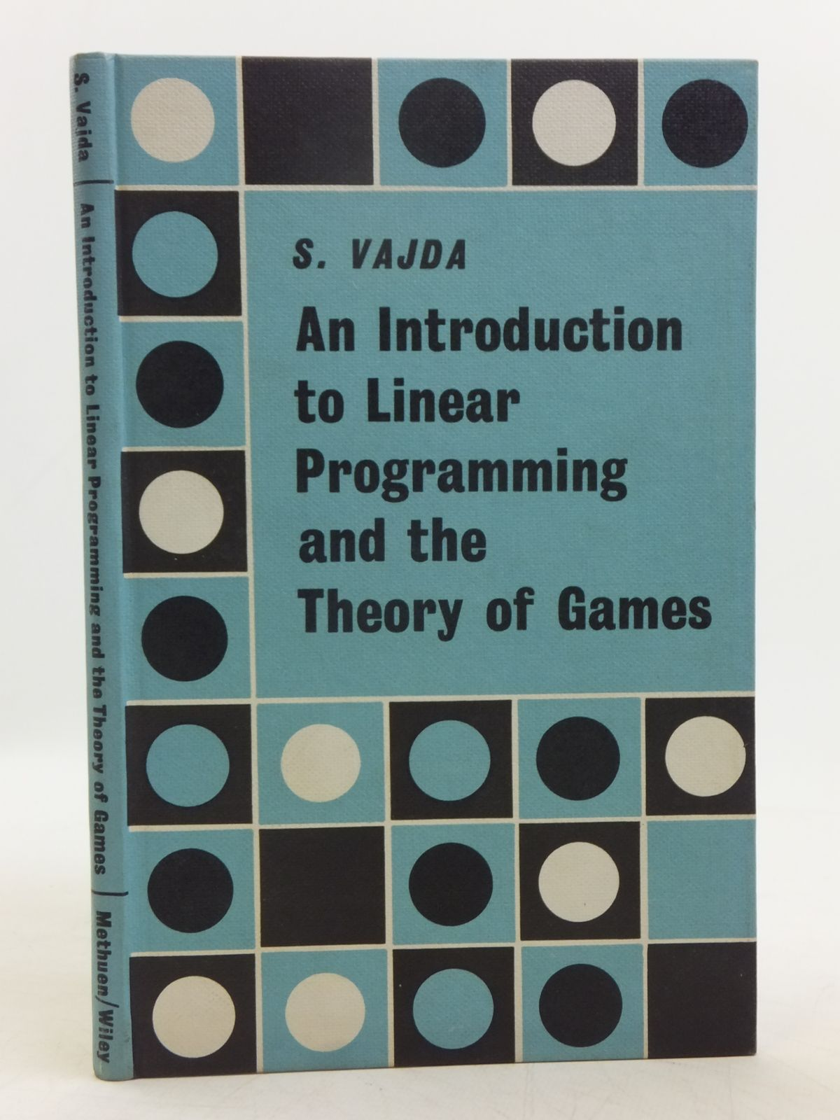Photo of AN INTRODUCTION TO LINEAR PROGRAMMING AND THE THEORY OF GAMES- Stock Number: 2119494