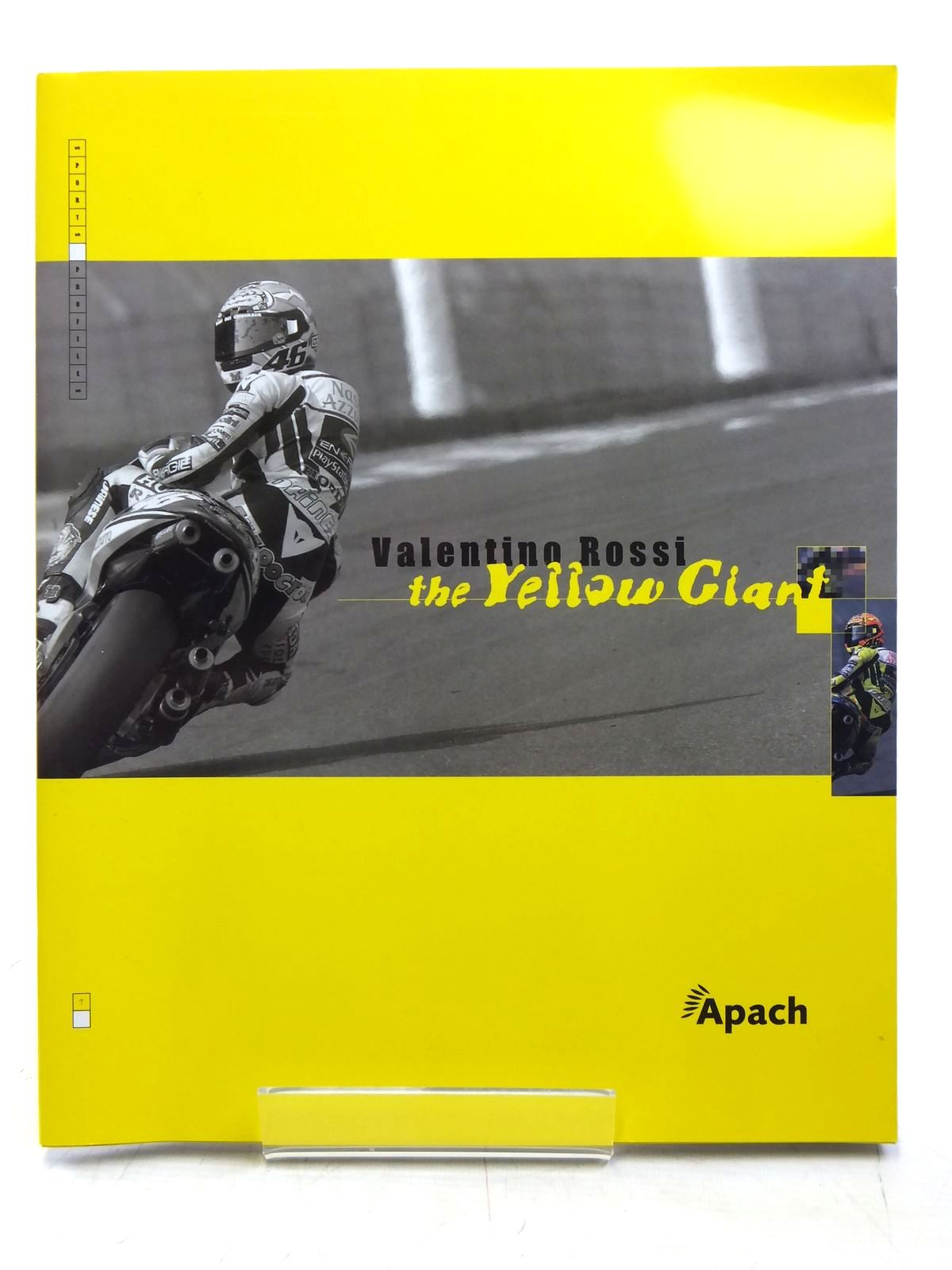 Photo of VALENTINO ROSSI THE YELLOW GIANT written by Jamotte, Yves et al, published by Apach Publishing (STOCK CODE: 2119704)  for sale by Stella & Rose's Books