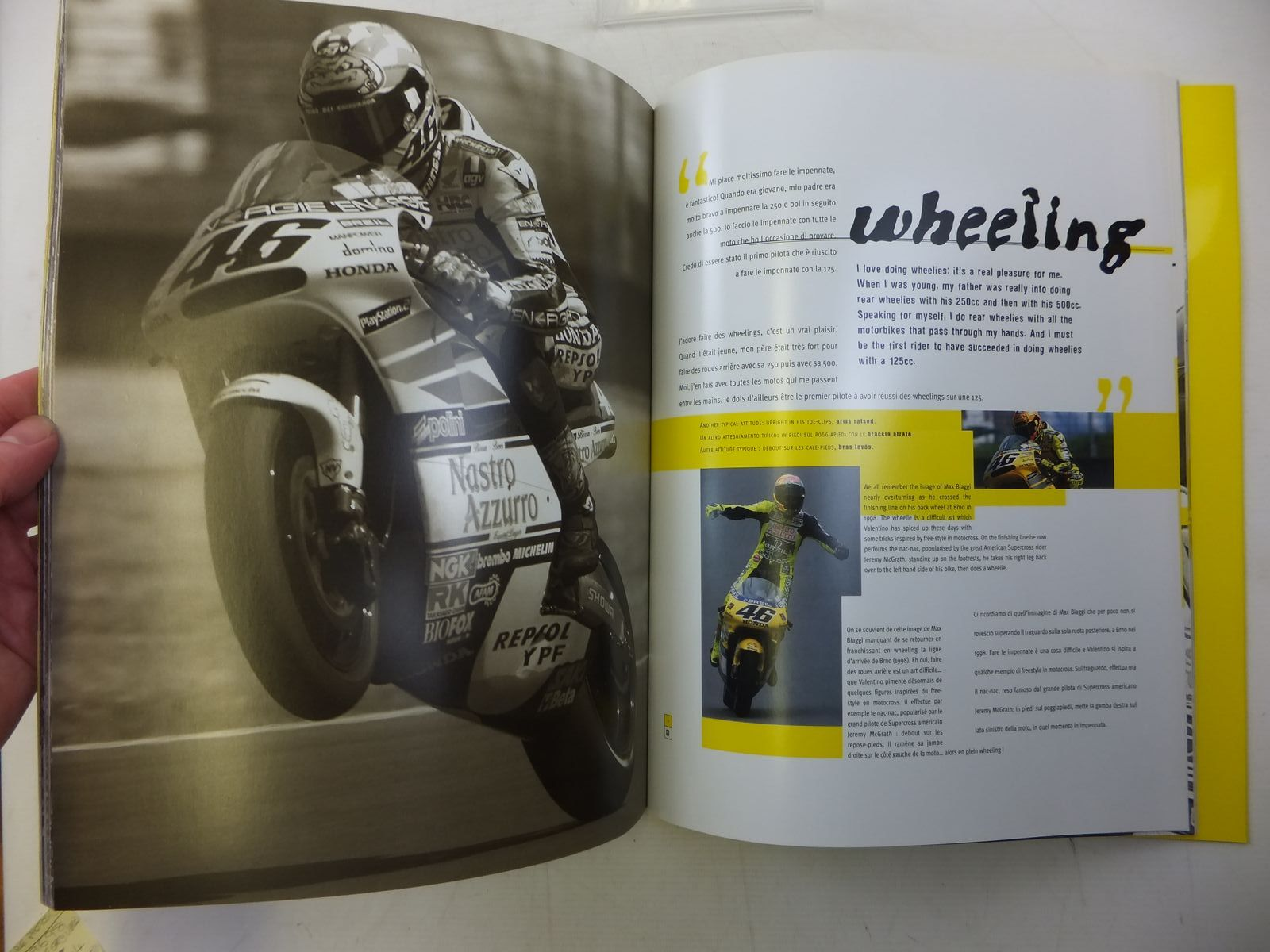 Photo of VALENTINO ROSSI THE YELLOW GIANT written by Jamotte, Yves<br />et al, published by Apach Publishing (STOCK CODE: 2119704)  for sale by Stella & Rose's Books