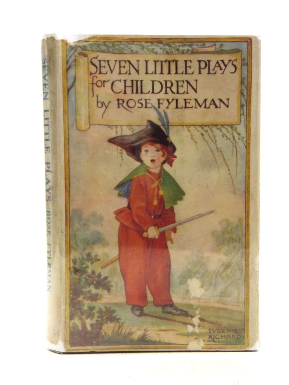 Photo of SEVEN LITTLE PLAYS FOR CHILDREN written by Fyleman, Rose published by Methuen & Co. Ltd. (STOCK CODE: 2119723)  for sale by Stella & Rose's Books