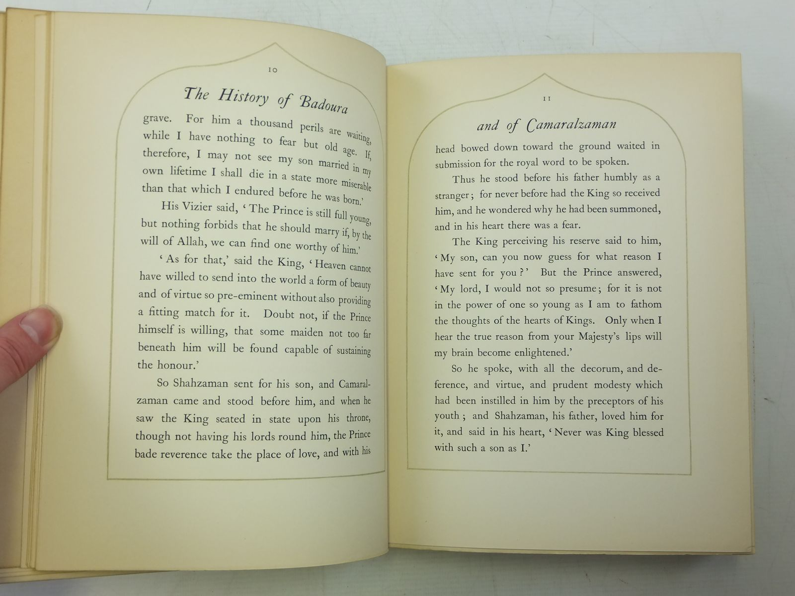 Photo of PRINCESS BADOURA written by Housman, Laurence illustrated by Dulac, Edmund published by Hodder & Stoughton (STOCK CODE: 2119790)  for sale by Stella & Rose's Books