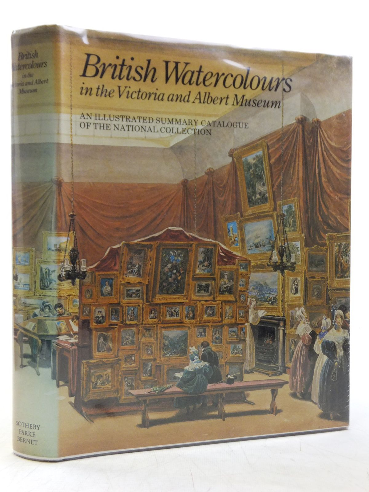 Photo of BRITISH WATERCOLOURS IN THE VICTORIA AND ALBERT MUSEUM written by Lambourne, Lionel<br />Hamilton, Jean published by Sotherby Parke Bernet (STOCK CODE: 2119858)  for sale by Stella & Rose's Books