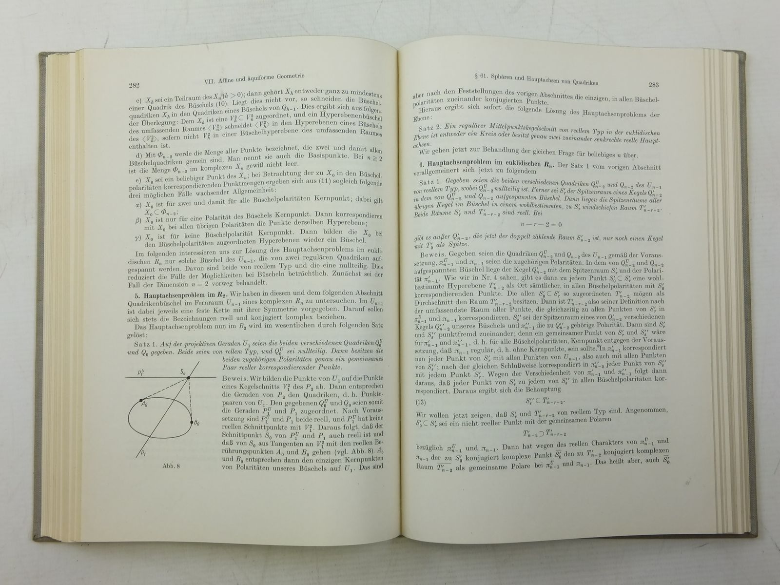 Photo of MEHRDIMENSIONALE PROJEKTIVE UND HOHERE GEOMETRIE written by Burau, Werner published by Veb Deutscher Verlag Der Wissenschaften (STOCK CODE: 2119893)  for sale by Stella & Rose's Books