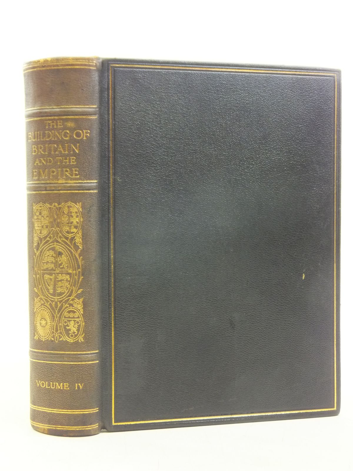 Photo of THE BUILDING OF BRITAIN AND THE EMPIRE - VOLUME IV written by Traill, H.D. Mann, J.S. published by The Waverley Book Company Ltd. (STOCK CODE: 2119941)  for sale by Stella & Rose's Books