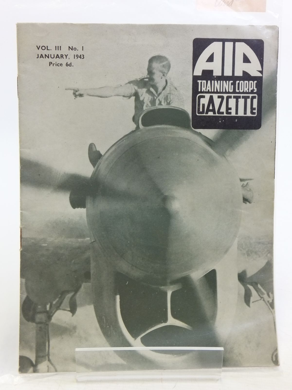 Photo of AIR TRAINING CORPS GAZETTE VOL. III No. 1 JANUARY 1943 written by Johns, W.E. et al, published by The Air League Of The British Empire (STOCK CODE: 2119949)  for sale by Stella & Rose's Books