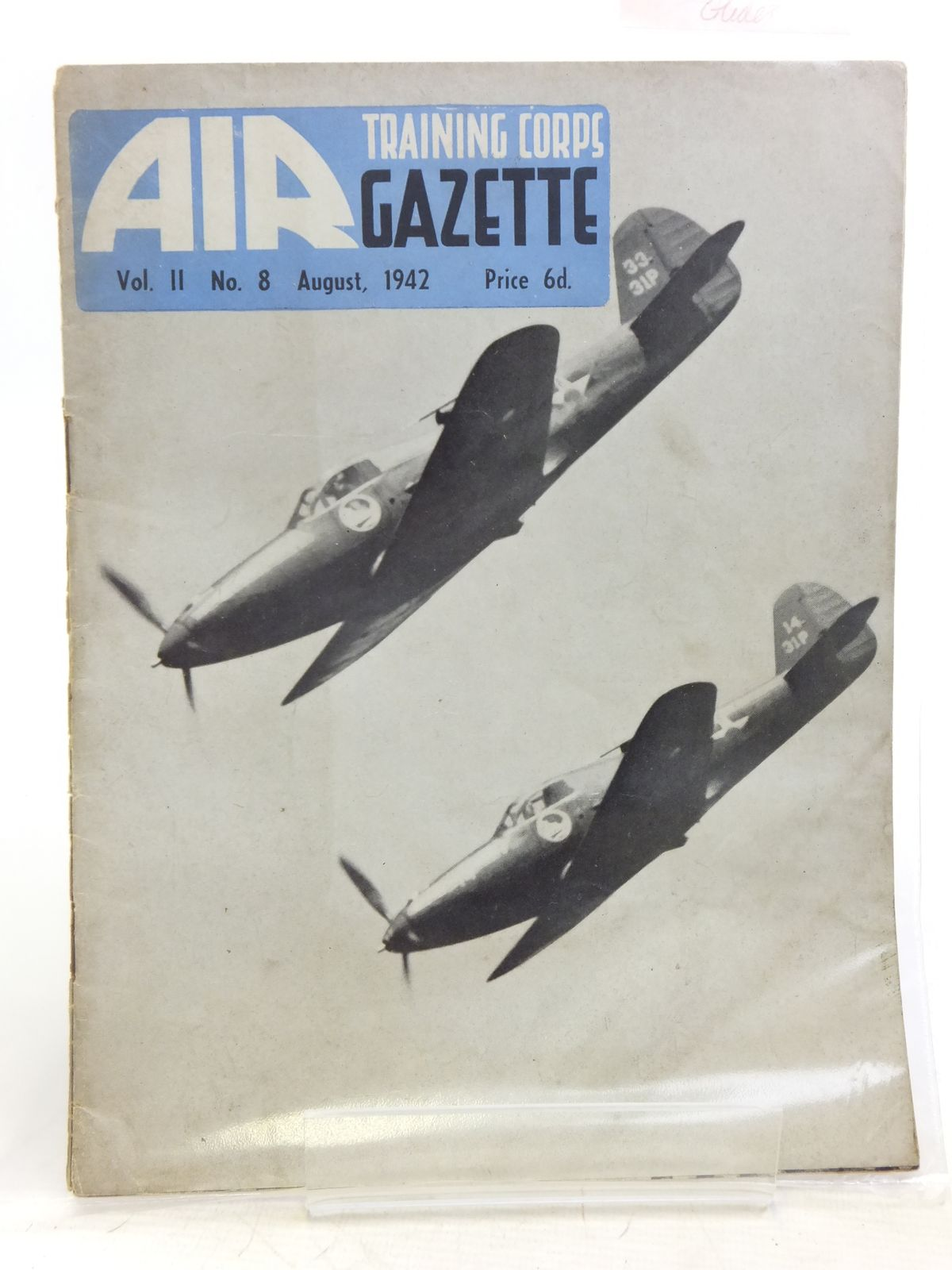 Photo of AIR TRAINING CORPS GAZETTE VOL. II No. 8 AUGUST 1942 written by Johns, W.E. et al, published by The Air League Of The British Empire (STOCK CODE: 2119952)  for sale by Stella & Rose's Books