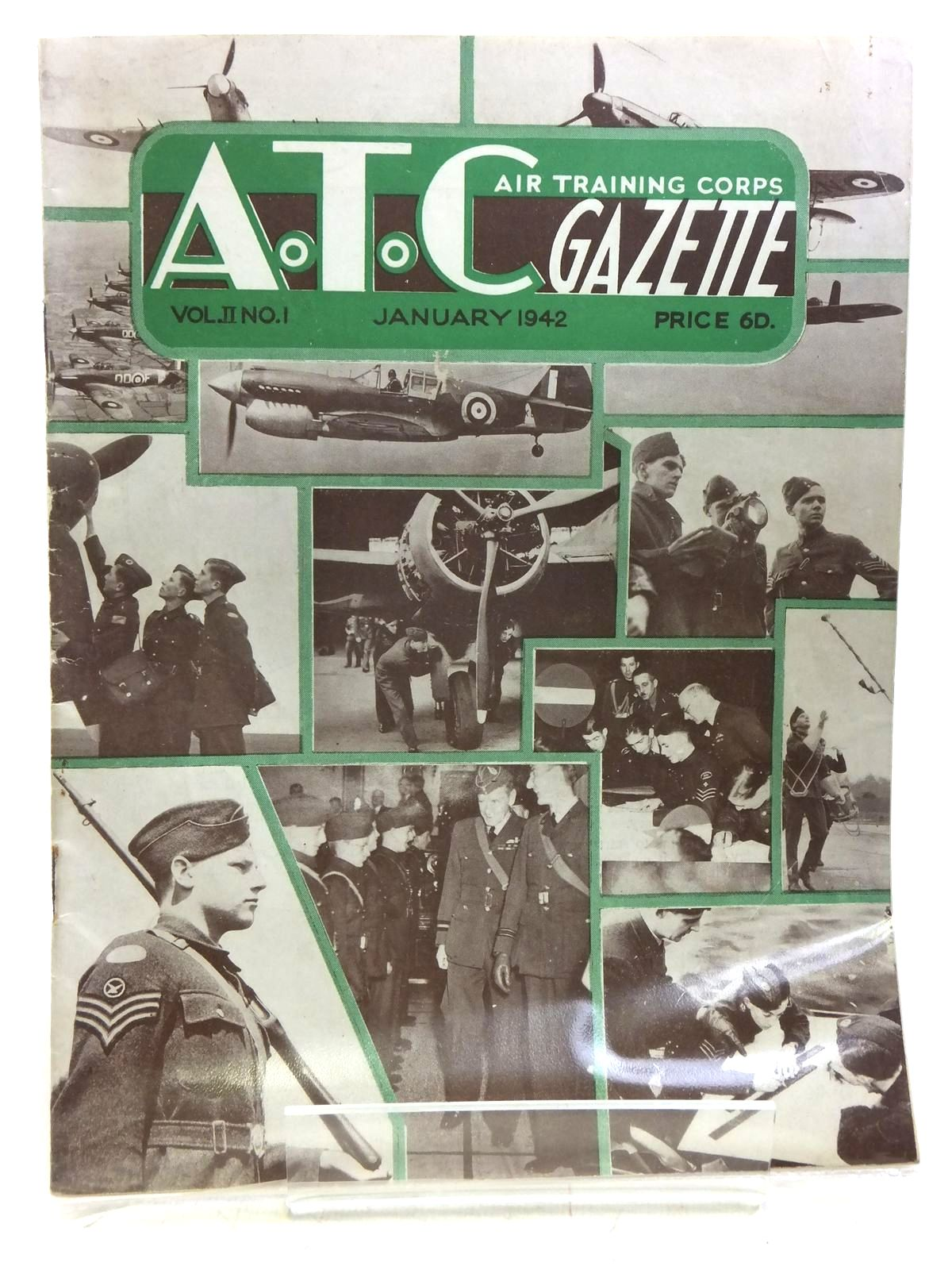 Photo of AIR TRAINING CORPS GAZETTE VOL. II No. 1 JANUARY 1942 written by Johns, W.E. et al, published by The Air League Of The British Empire (STOCK CODE: 2119958)  for sale by Stella & Rose's Books