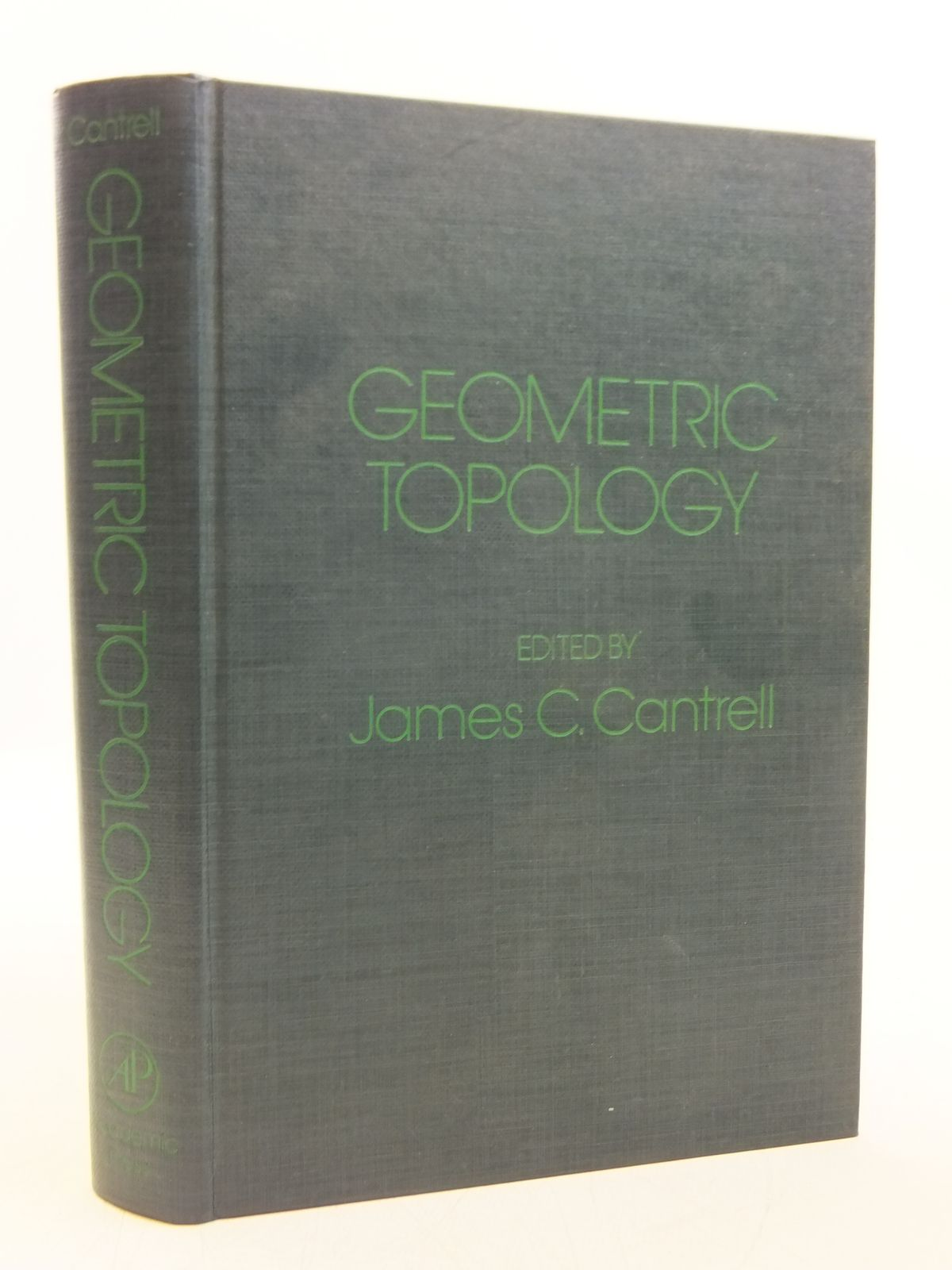Photo of GEOMETRIC TOPOLOGY written by Cantrell, James C. published by Academic Press (STOCK CODE: 2120124)  for sale by Stella & Rose's Books