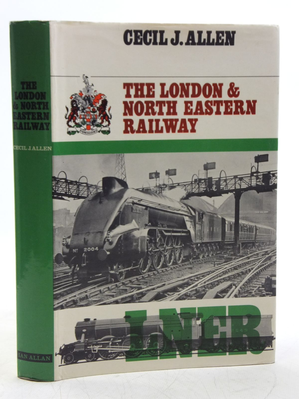 Photo of THE LONDON & NORTH EASTERN RAILWAY written by Allen, Cecil J. published by Ian Allan (STOCK CODE: 2120151)  for sale by Stella & Rose's Books