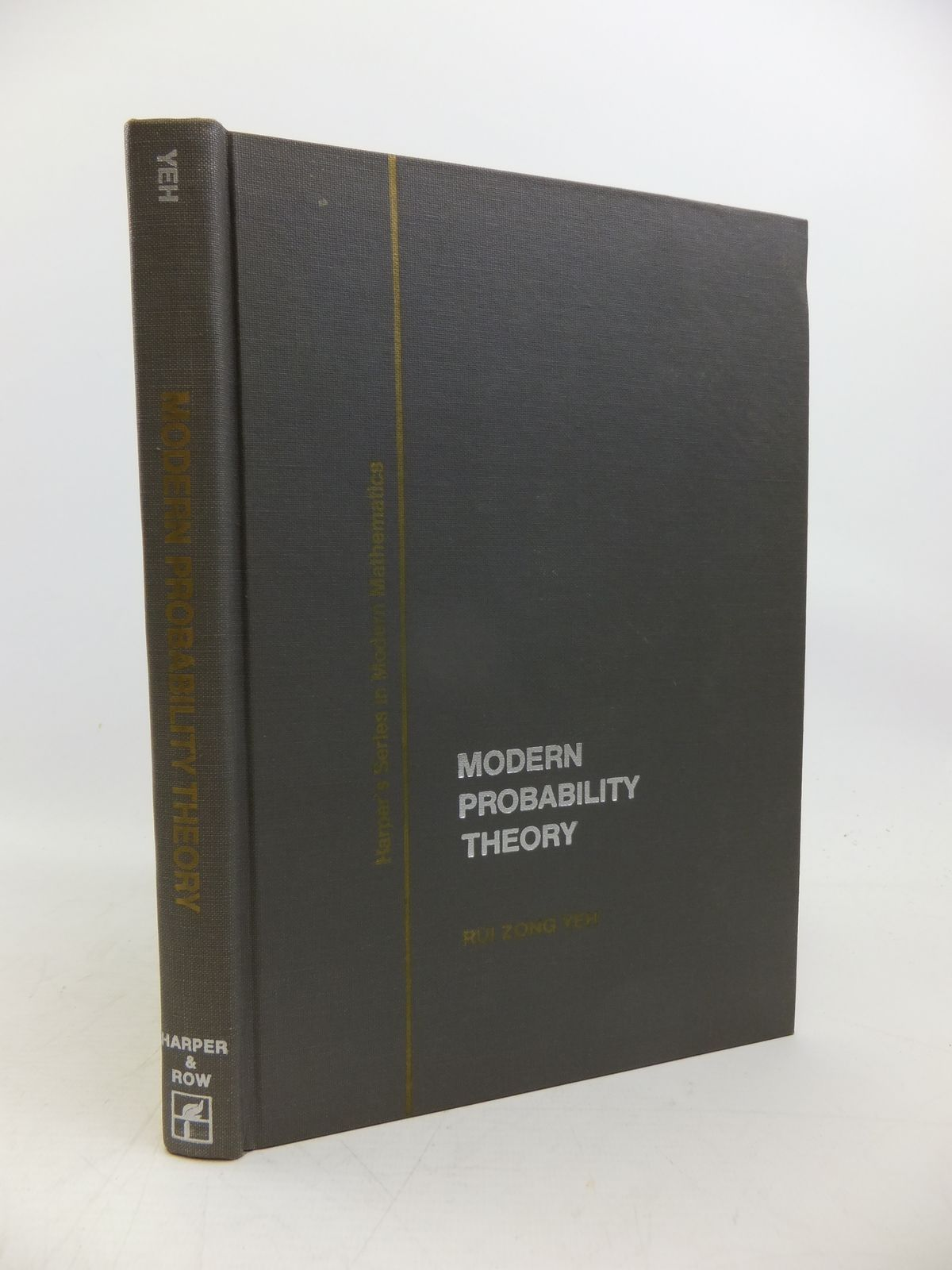 Photo of MODERN PROBABILITY THEORY written by Yeh, Rui Zong published by Harper & Row (STOCK CODE: 2120303)  for sale by Stella & Rose's Books