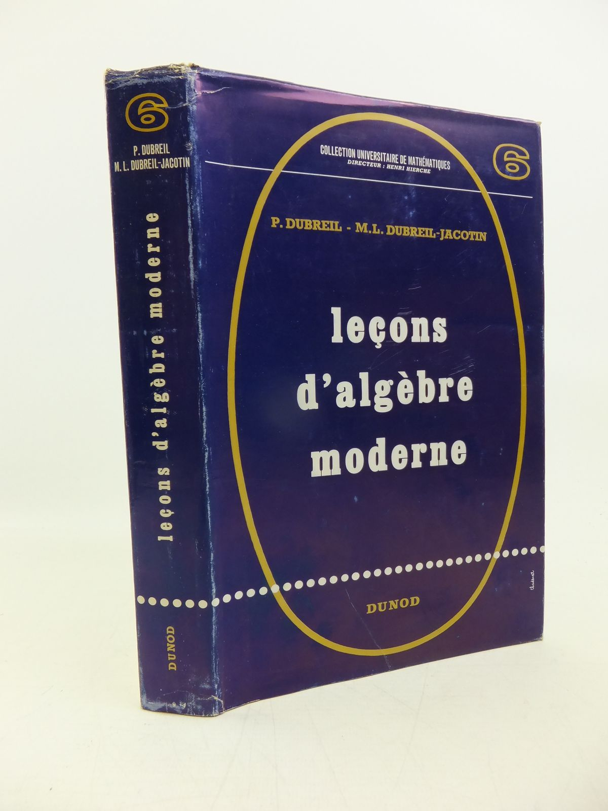 Photo of LECONS D'ALGEBRE MODERNE written by Dubreil, P. Dubreil-Jacotin, M.L. published by Dunod (STOCK CODE: 2120307)  for sale by Stella & Rose's Books