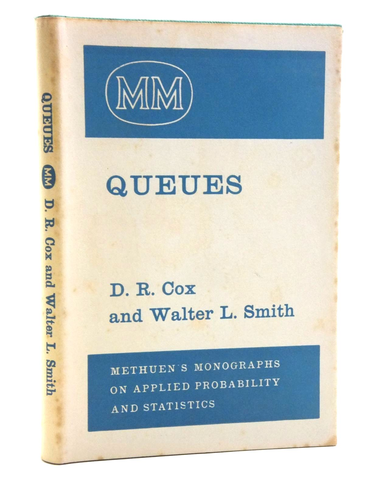 Photo of QUEUES written by Cox, D.R.