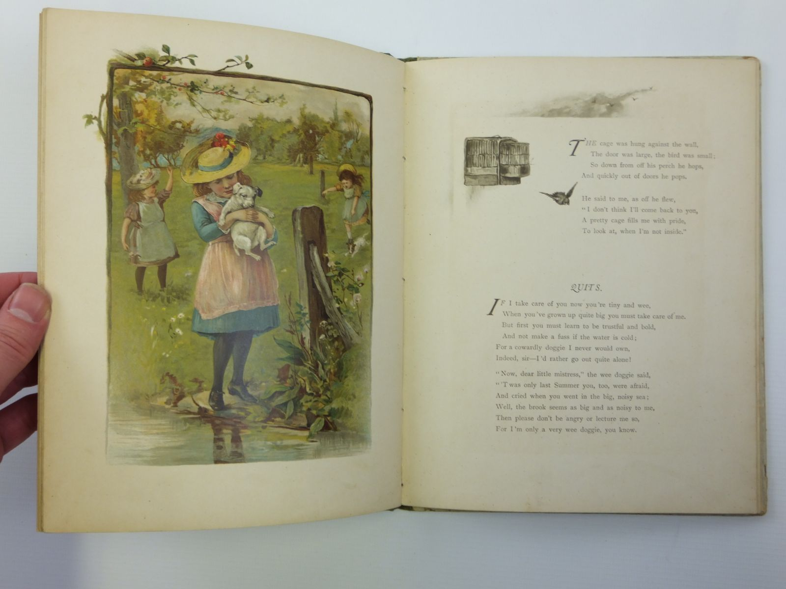 Photo of CHERRY CHEEKS AND ROSES published by Ernest Nister (STOCK CODE: 2120692)  for sale by Stella & Rose's Books