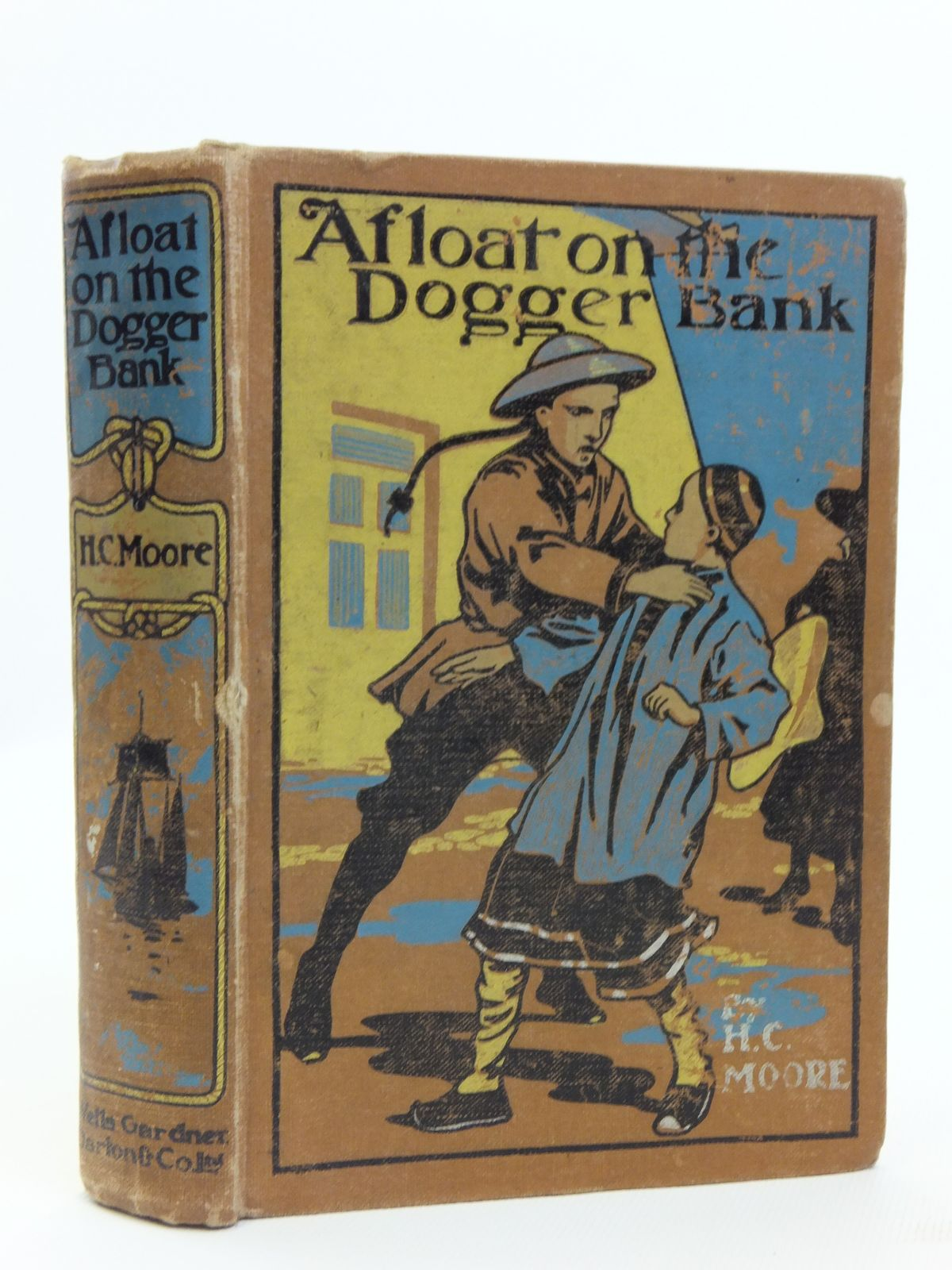Photo of AFLOAT ON THE DOGGER BANK written by Moore, Henry Charles illustrated by Prater, John published by Wells Gardner, Darton & Co. Ltd. (STOCK CODE: 2120752)  for sale by Stella & Rose's Books