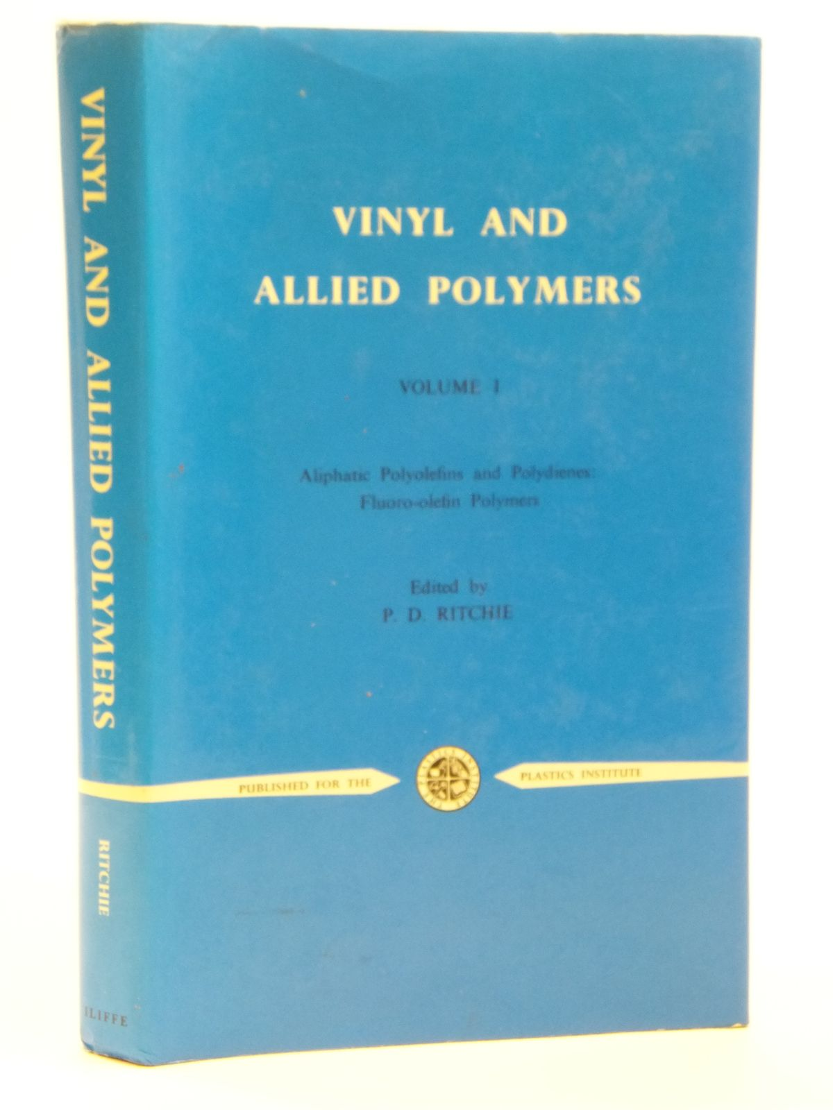 Photo of VINYL AND ALLIED POLYMERS VOLUME I- Stock Number: 2121106