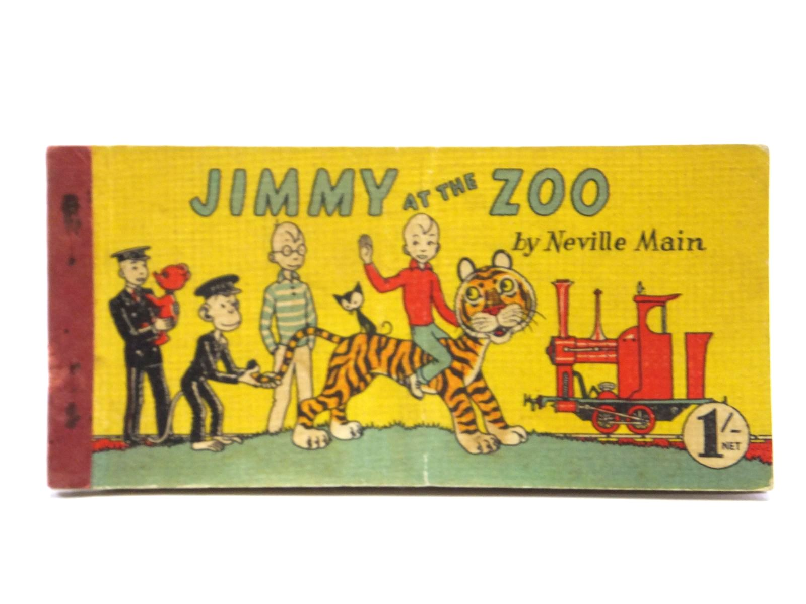 Photo of JIMMY AT THE ZOO written by Main, Neville published by Brockhampton Press Ltd. (STOCK CODE: 2121138)  for sale by Stella & Rose's Books